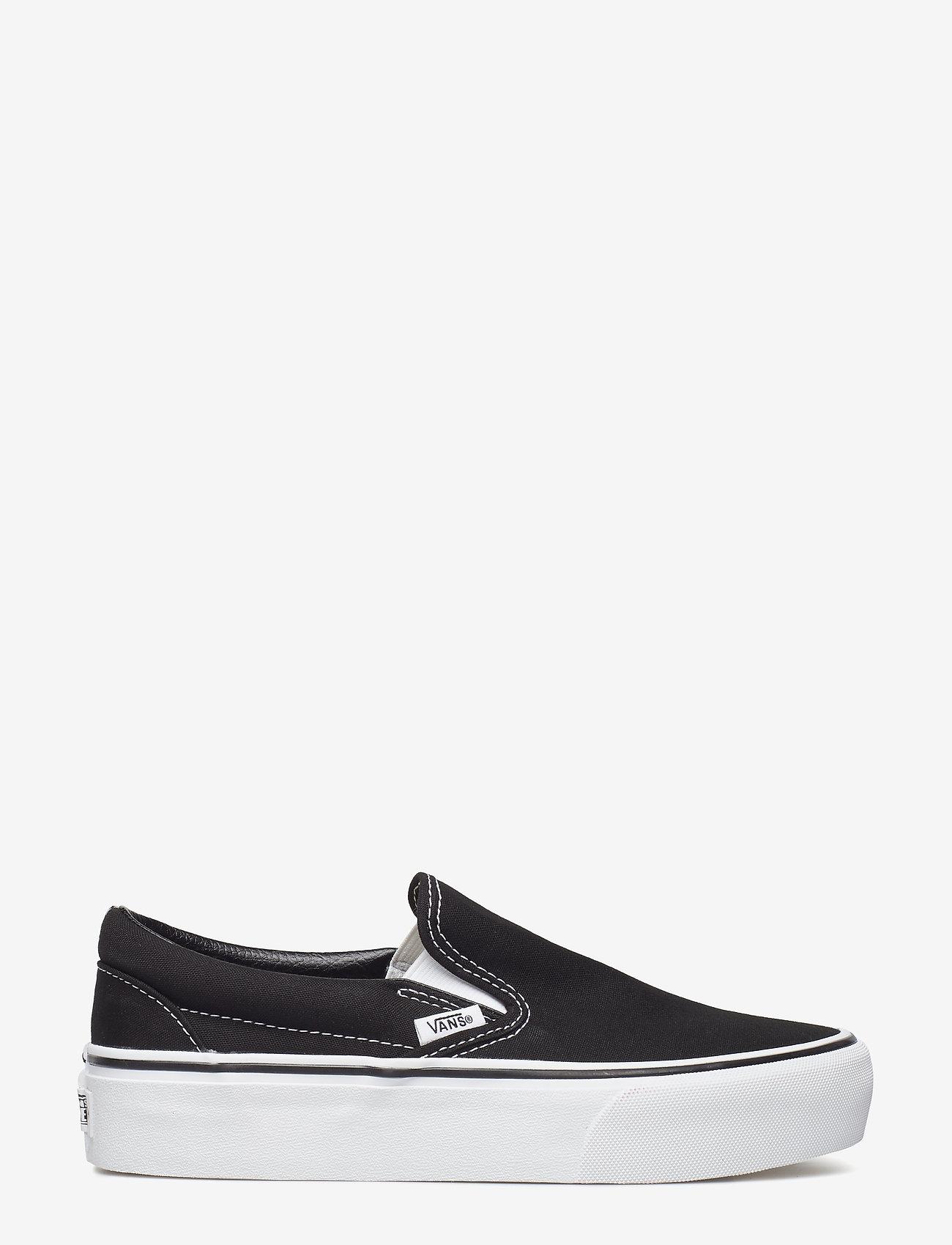 VANS - UA Classic Slip-On Platform - chunky sneakers - black - 1