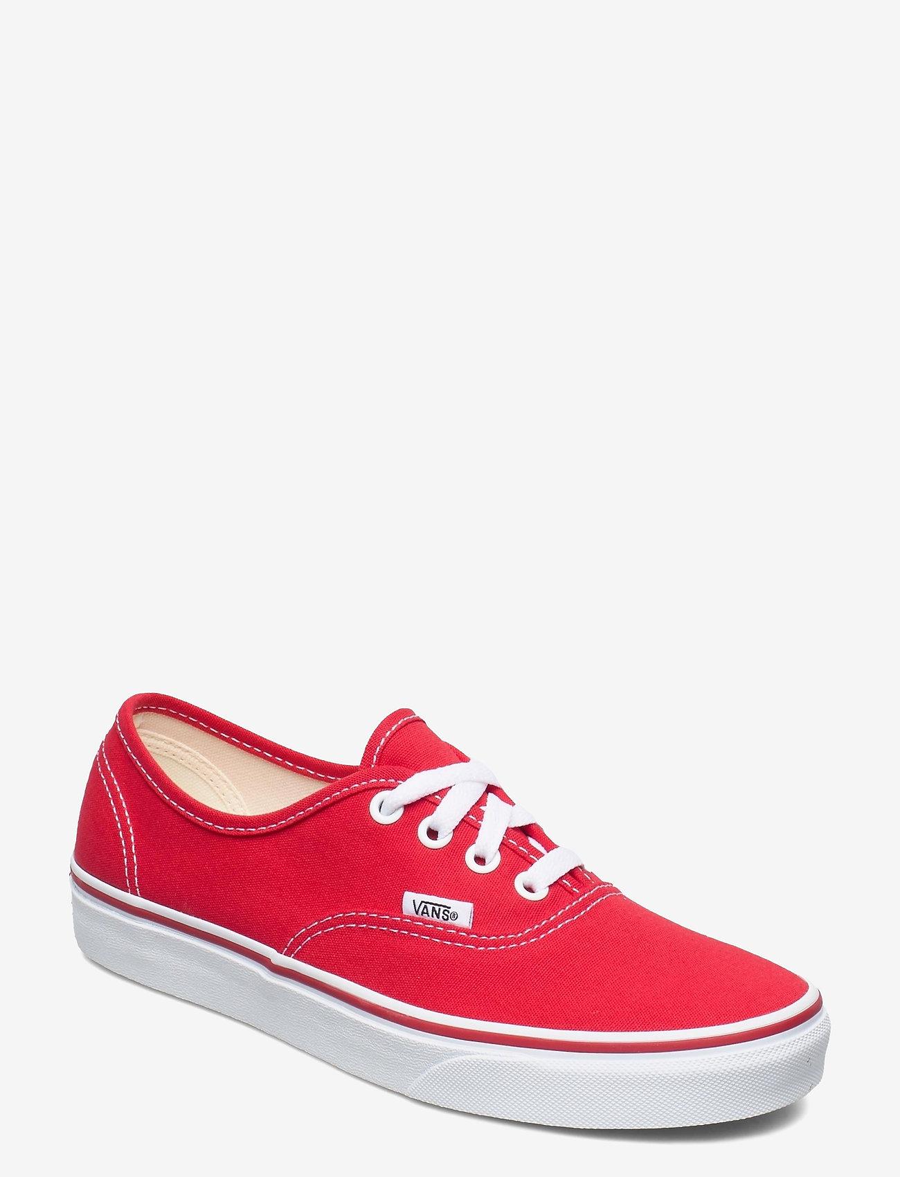 VANS - UA Authentic - laag sneakers - red - 0