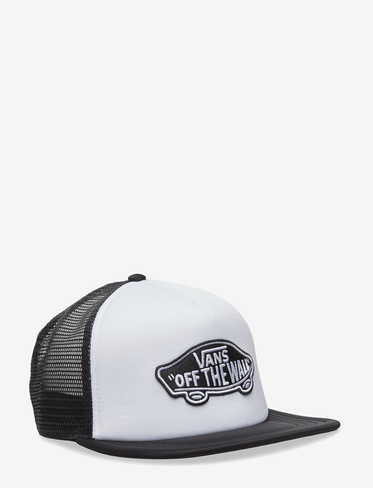 VANS - CLASSIC PATCH TRUCKER - petten - white-black - 0