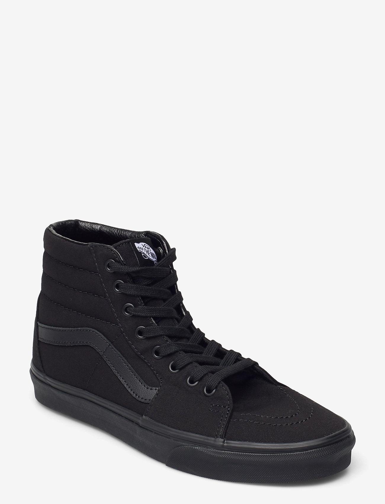 VANS - UA SK8-Hi - hoog sneakers - black/black/black - 0