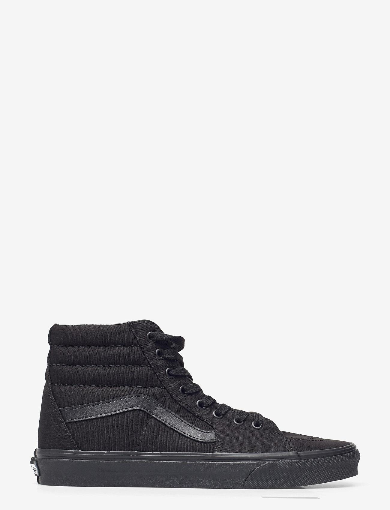 VANS - UA SK8-Hi - hoog sneakers - black/black/black - 1