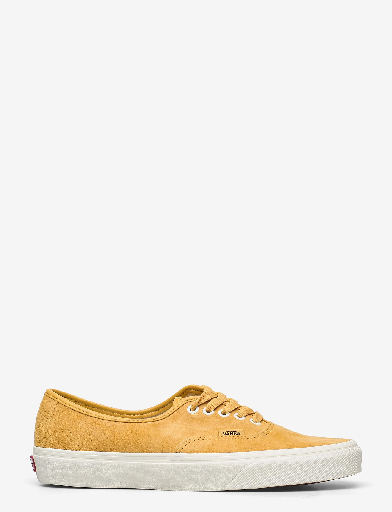 VANS - UA Authentic - laag sneakers - (pig suede)honeygoldtrwht - 1