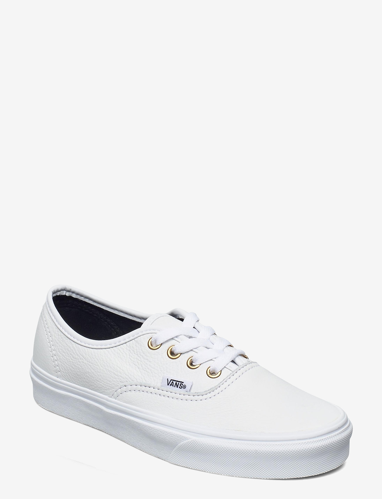 VANS - UA Authentic - laag sneakers - (leather) truewht/truewht - 0