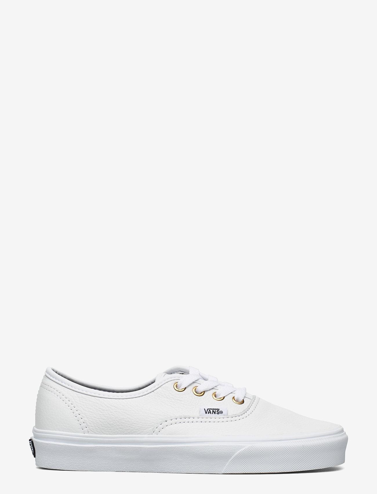 VANS - UA Authentic - laag sneakers - (leather) truewht/truewht - 1