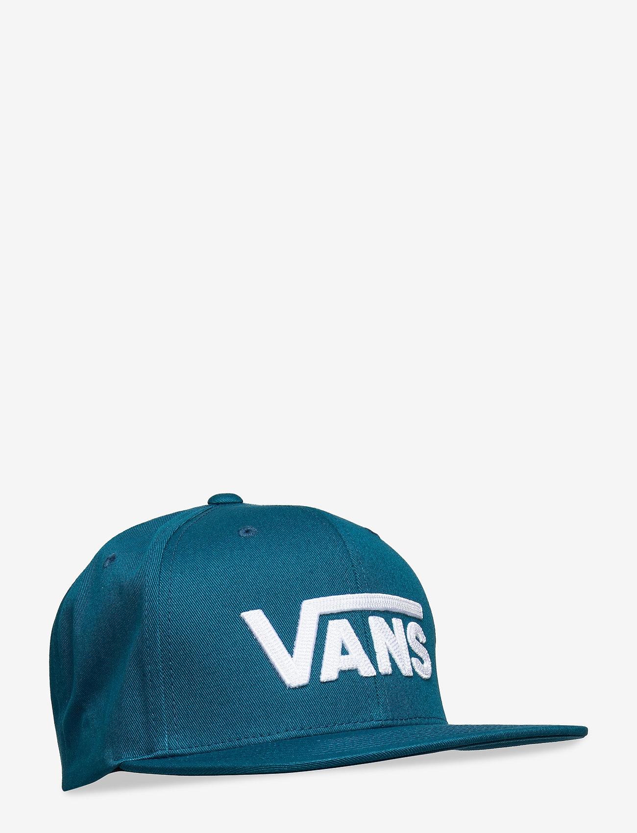 VANS - DROP V II SNAPBACK - flat caps - moroccan blue - 0