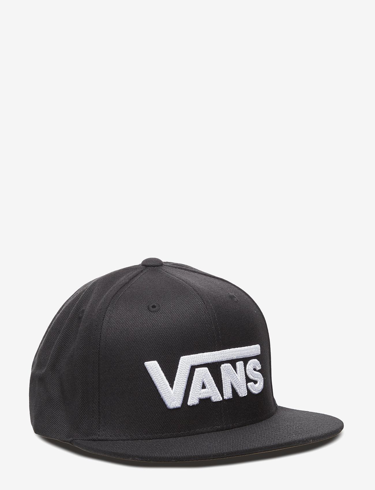 VANS - DROP V II SNAPBACK - petten - black-white - 0