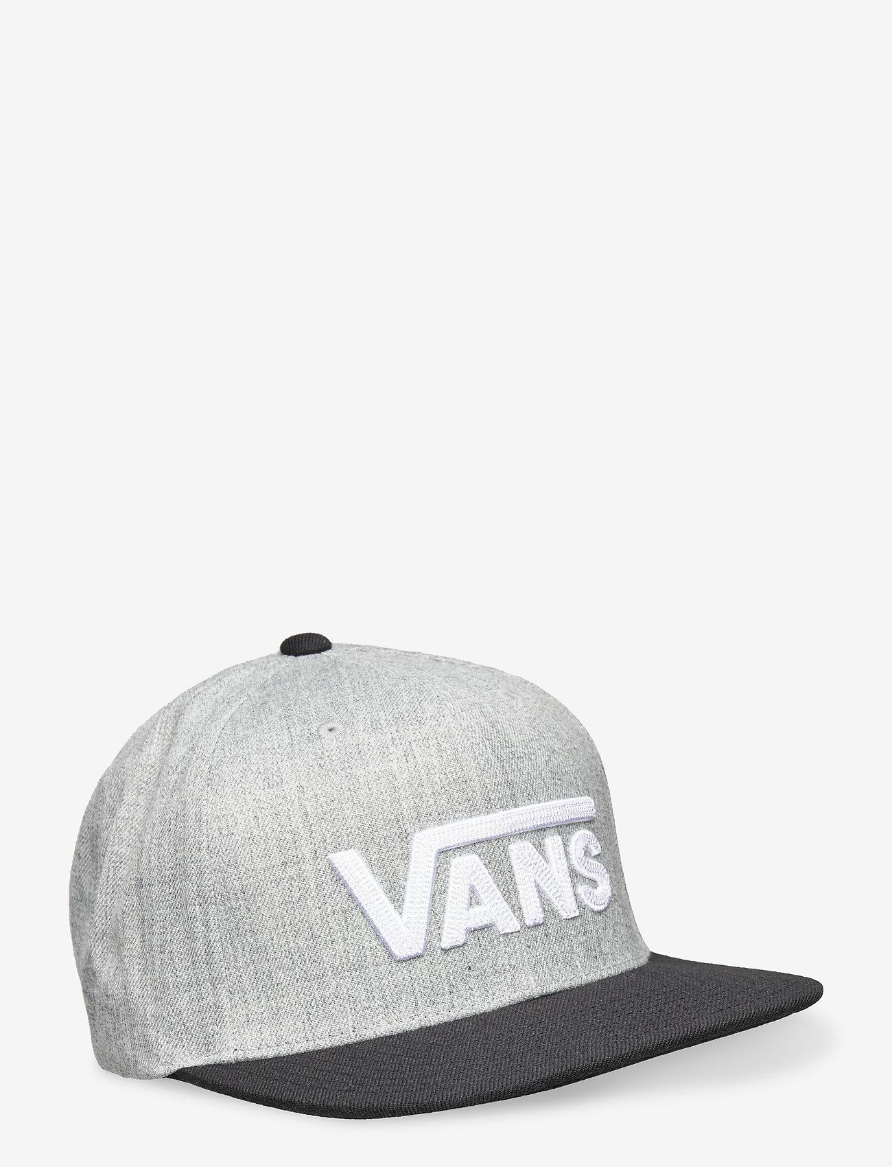 VANS - DROP V II SNAPBACK - petten - heather grey/black - 0