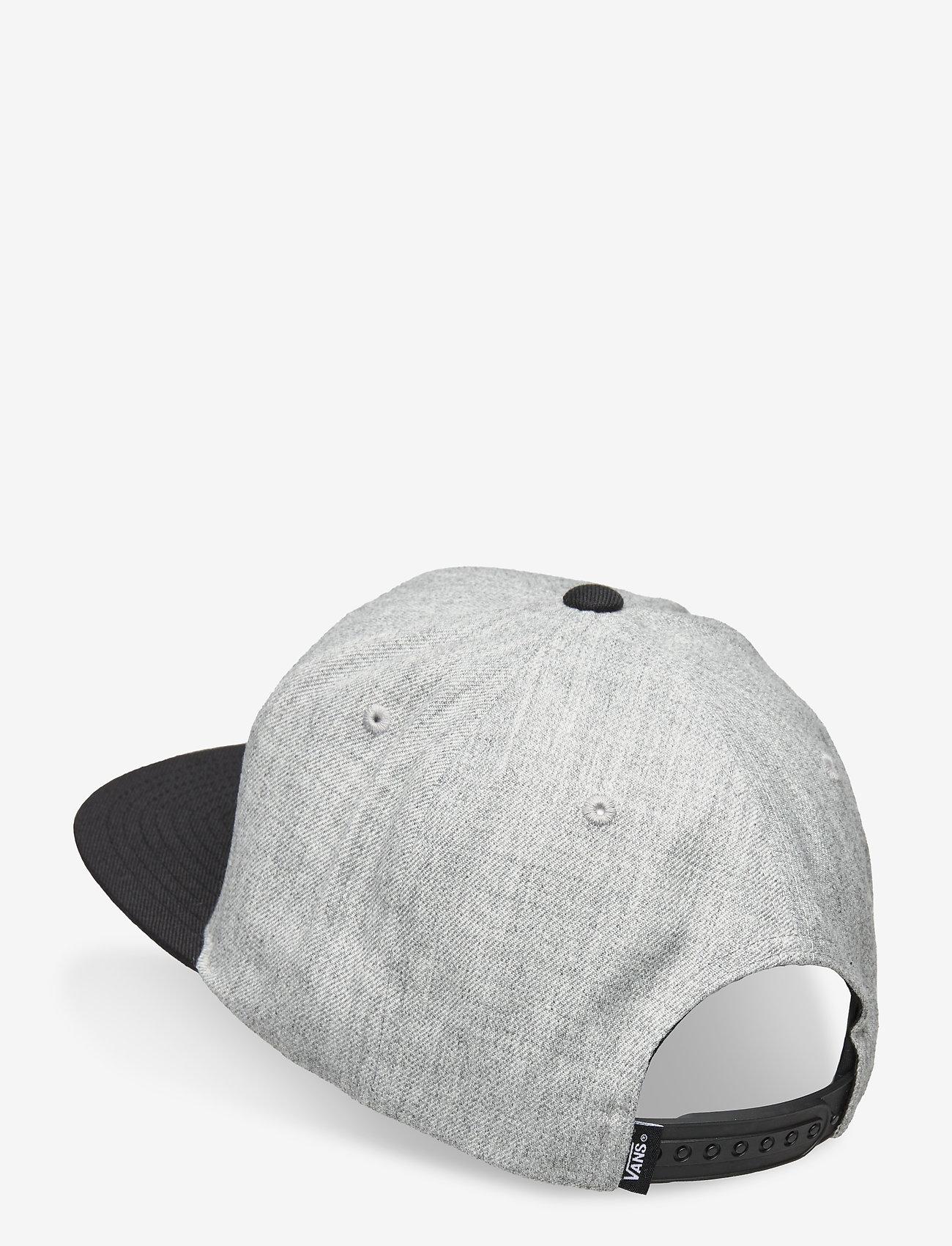 VANS - DROP V II SNAPBACK - petten - heather grey/black - 1