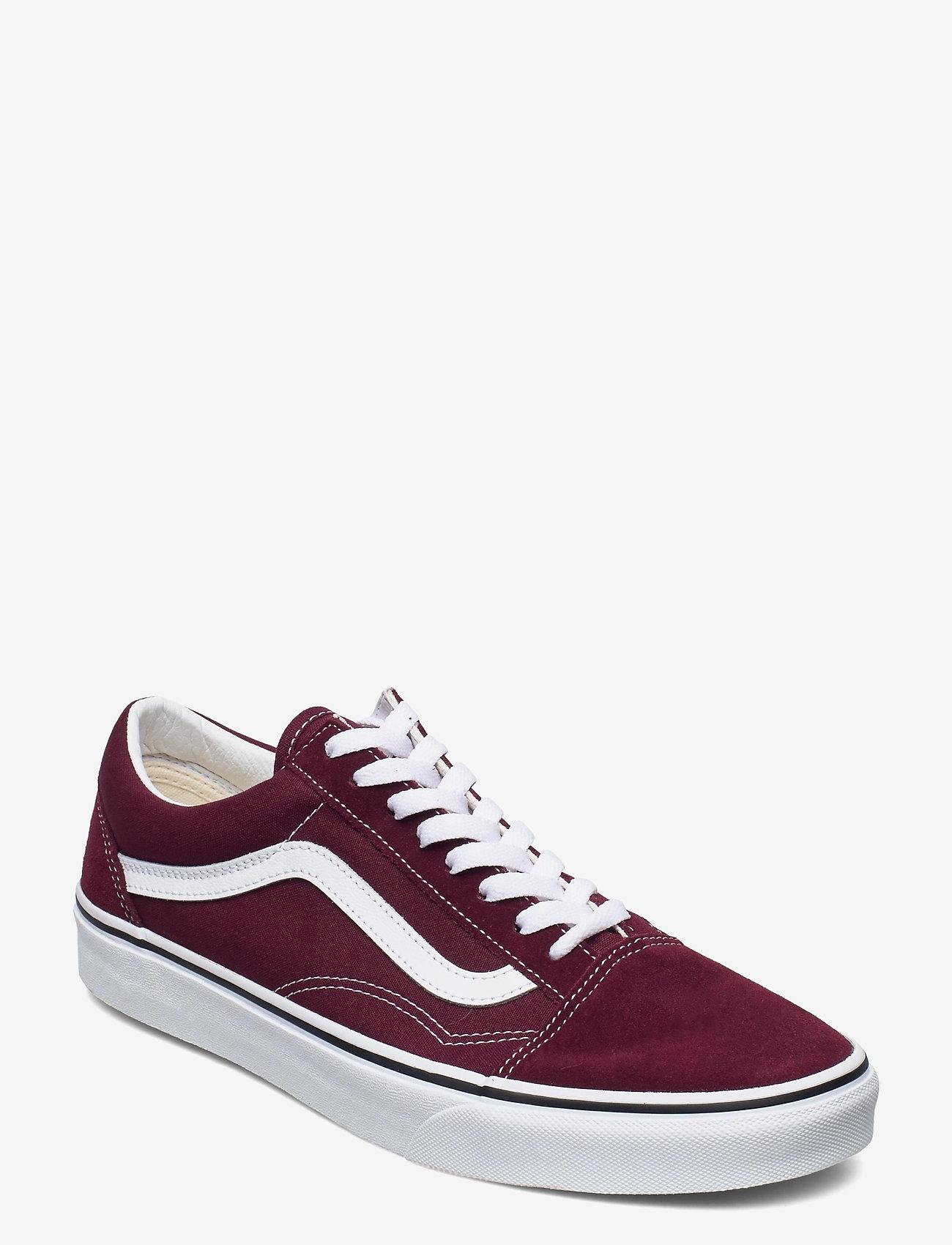 VANS - UA Old Skool - laag sneakers - port royale/true white - 0