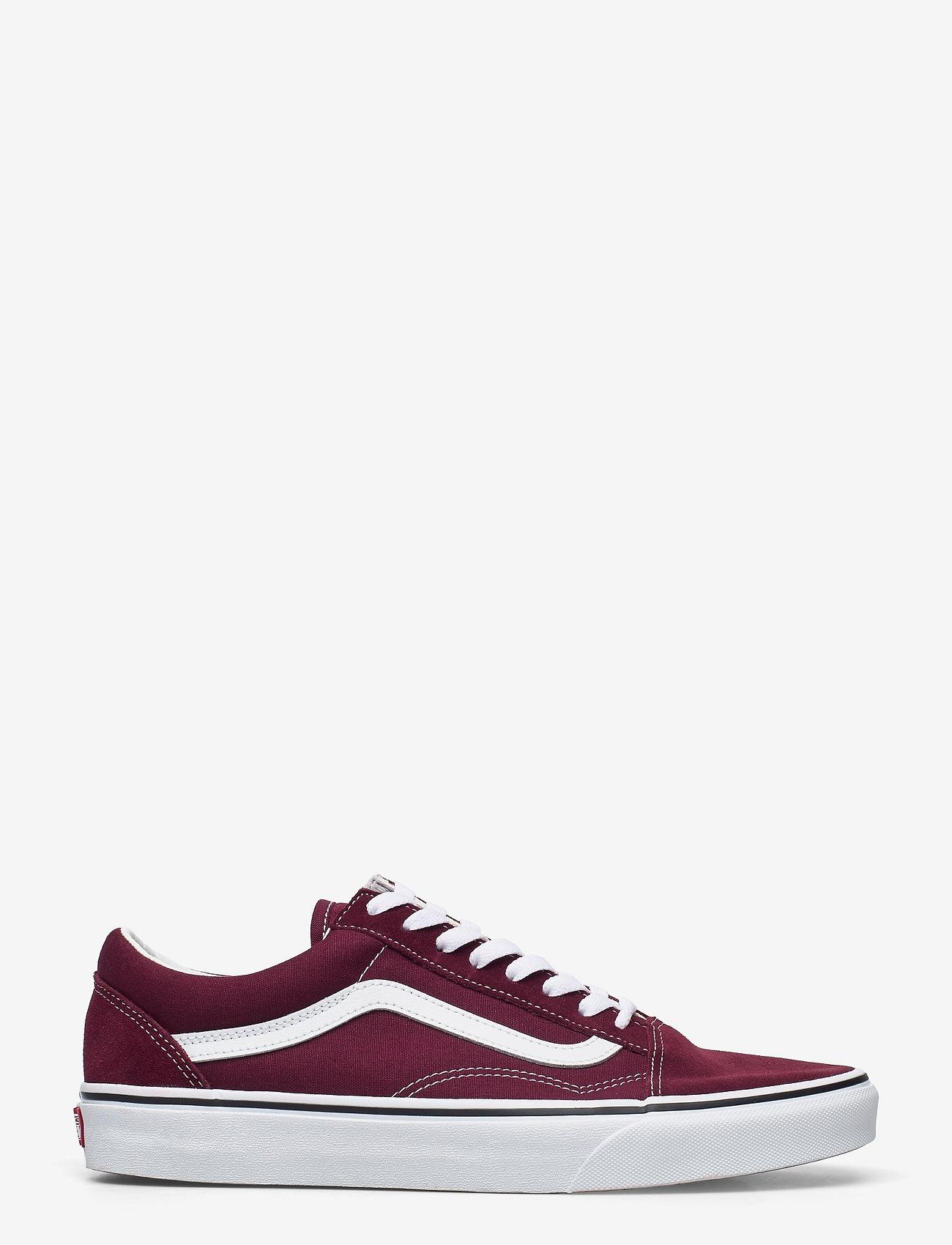 VANS - UA Old Skool - laag sneakers - port royale/true white - 1