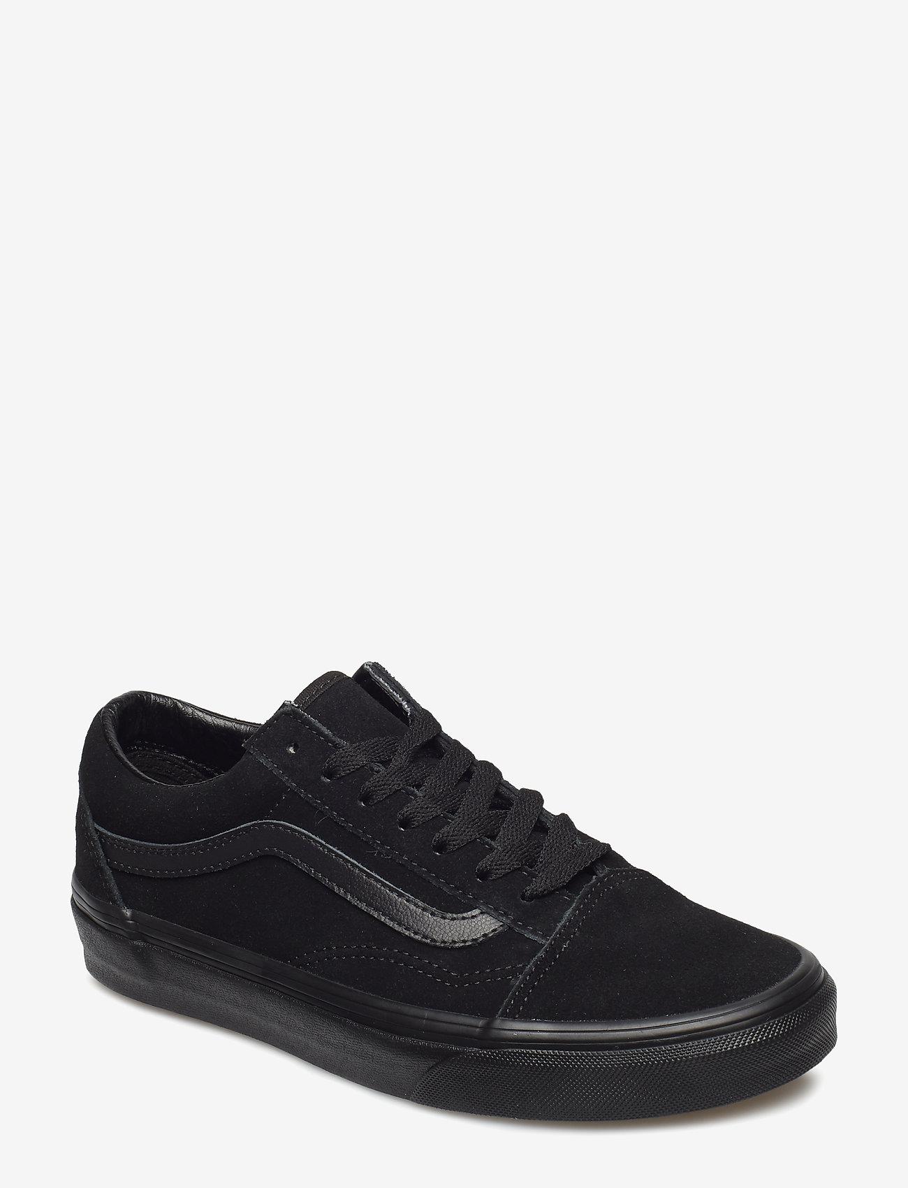 VANS - UA Old Skool - laag sneakers - (suede)black/black/black - 0