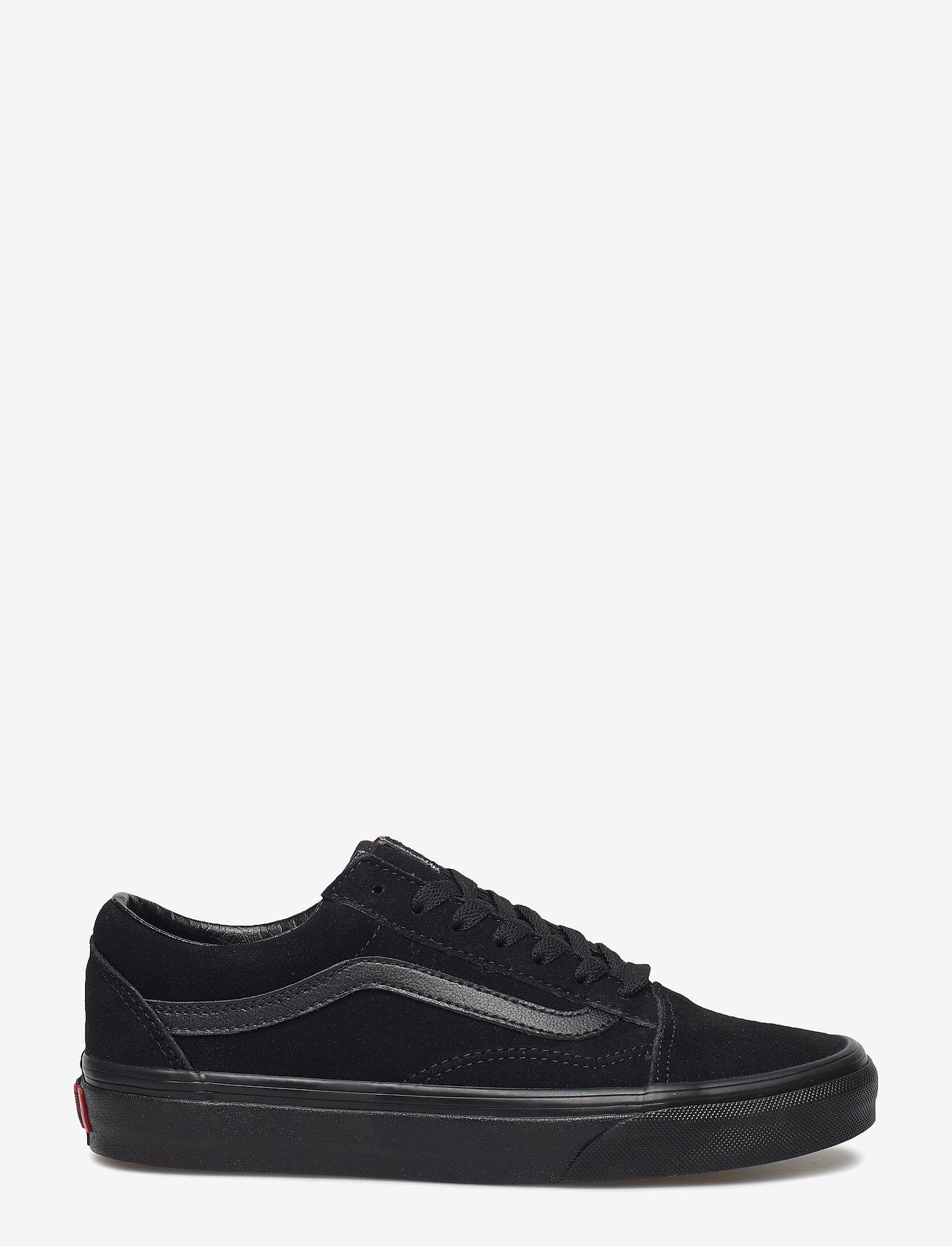 VANS - UA Old Skool - laag sneakers - (suede)black/black/black - 1