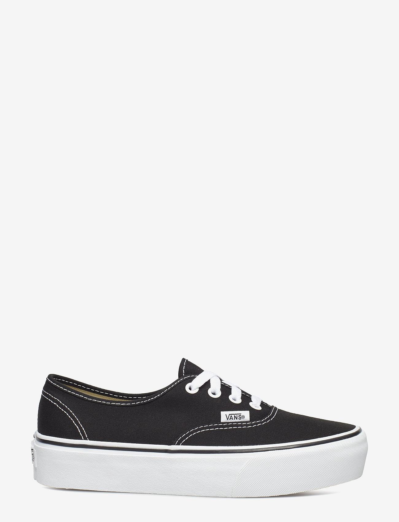 VANS - UA Authentic Platform 2.0 - lage sneakers - black - 1