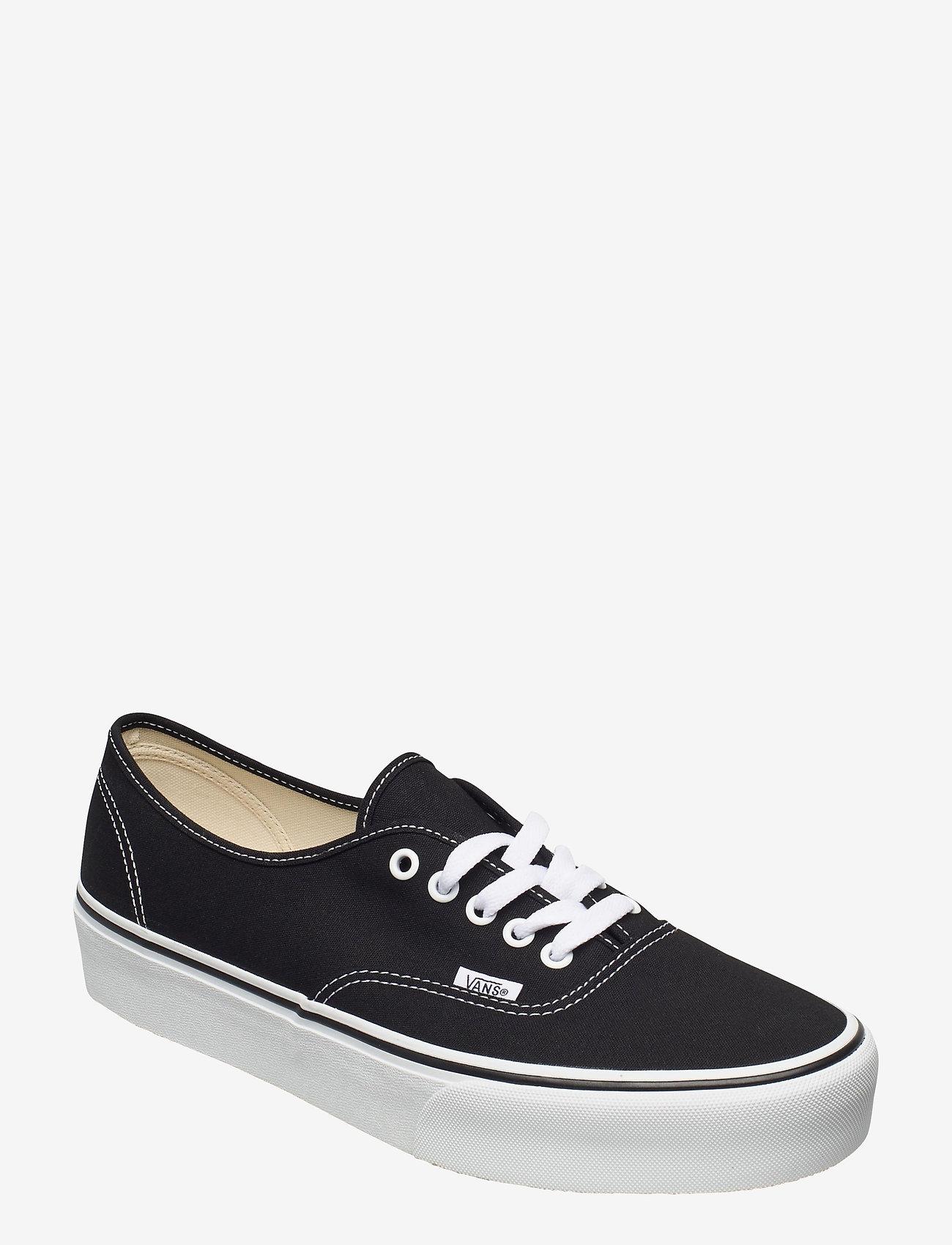 VANS - UA Authentic Platform 2.0 - laag sneakers - black - 0