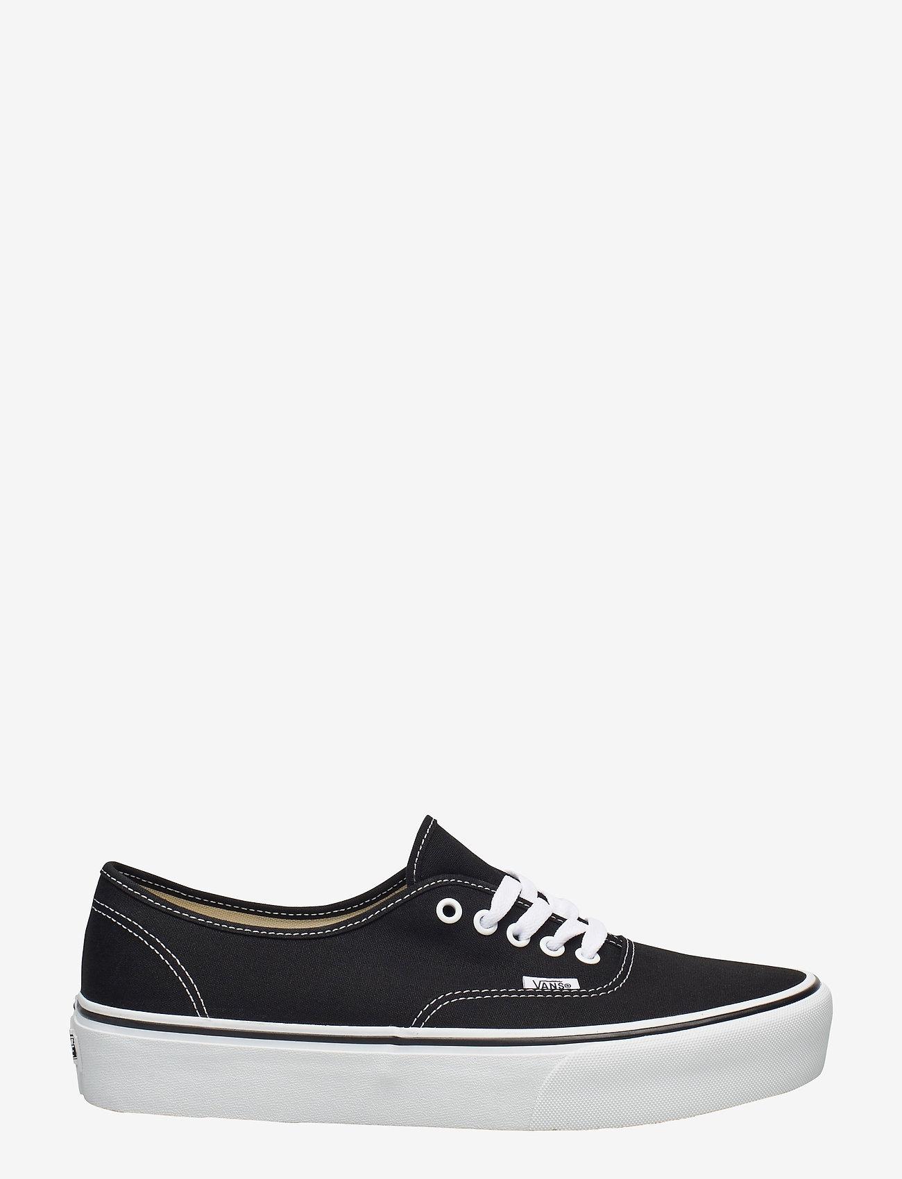 VANS - UA Authentic Platform 2.0 - laag sneakers - black - 1