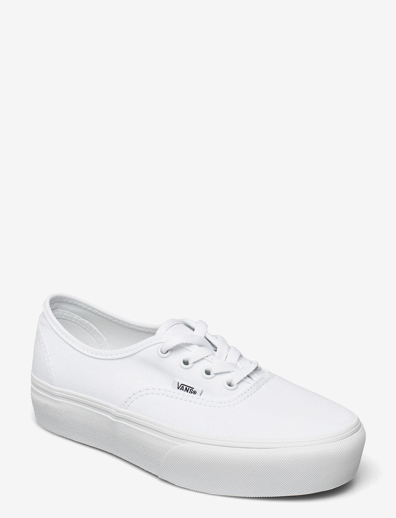 VANS - UA Authentic Platform 2.0 - lage sneakers - true white - 0