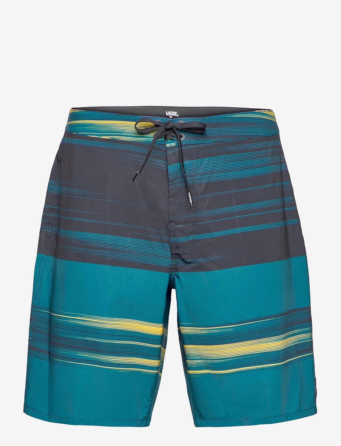 VANS - ERA BOARDSHORT 19 - boardshorts - black/moroccan blue - 0