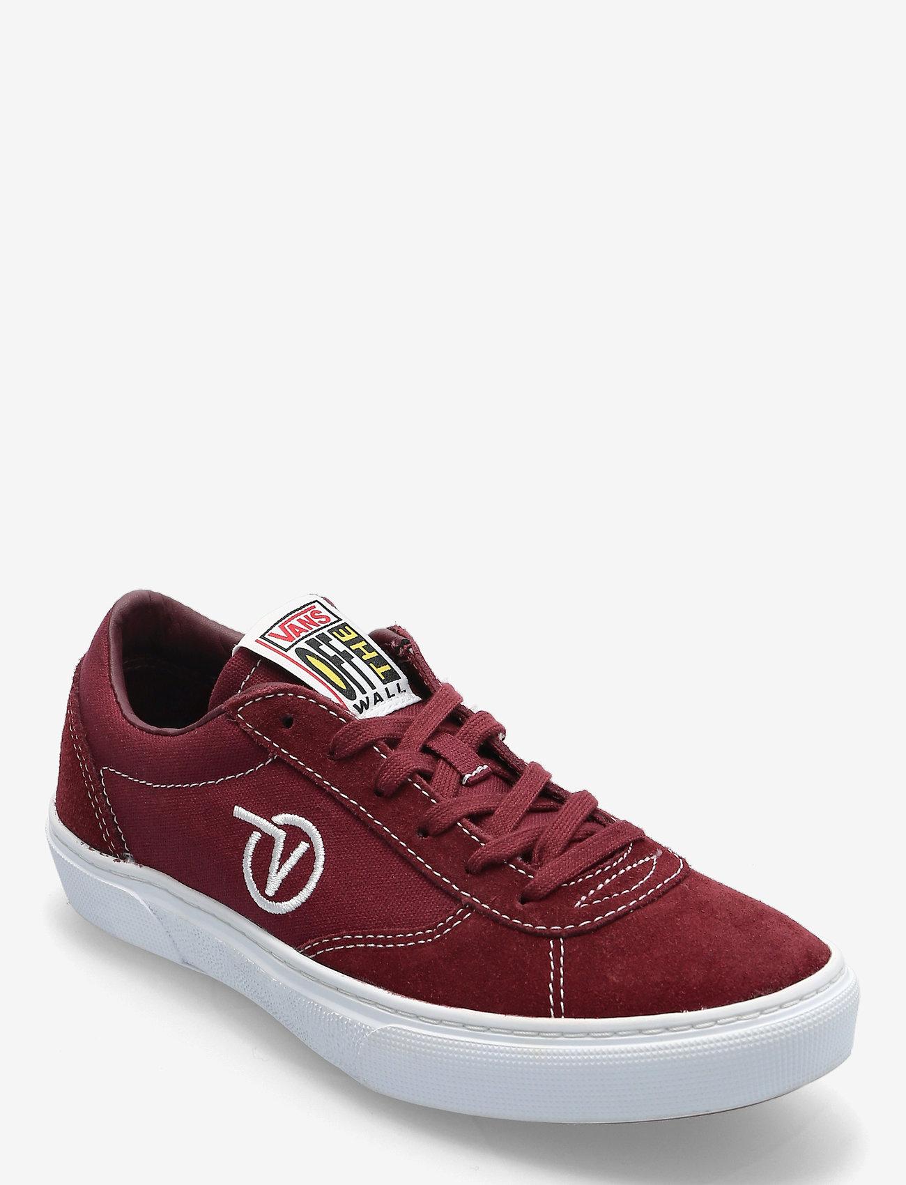 VANS - UA Paradoxxx - laag sneakers - port/white - 0