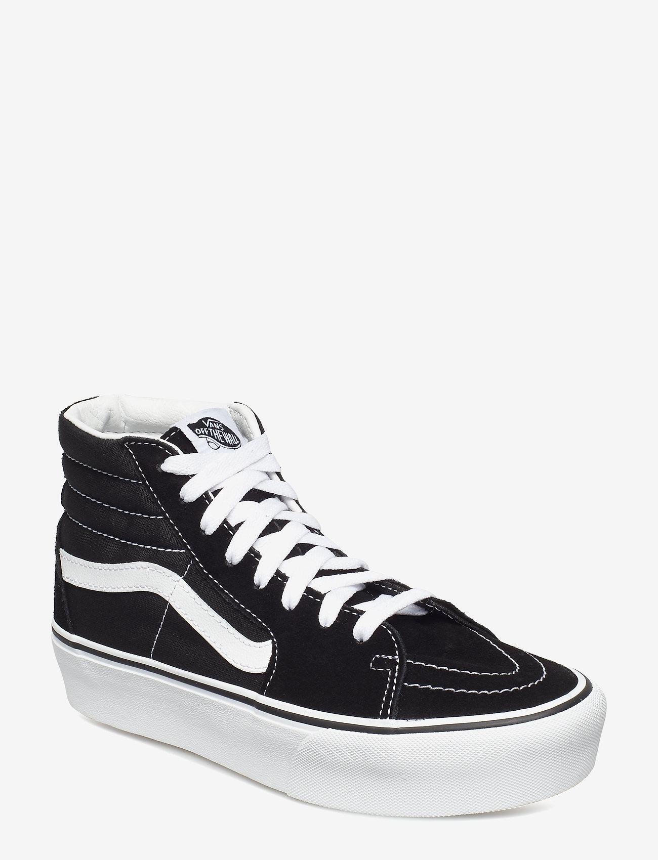 VANS - UA SK8-Hi Platform 2.0 - chunky sneakers - black/true white - 0