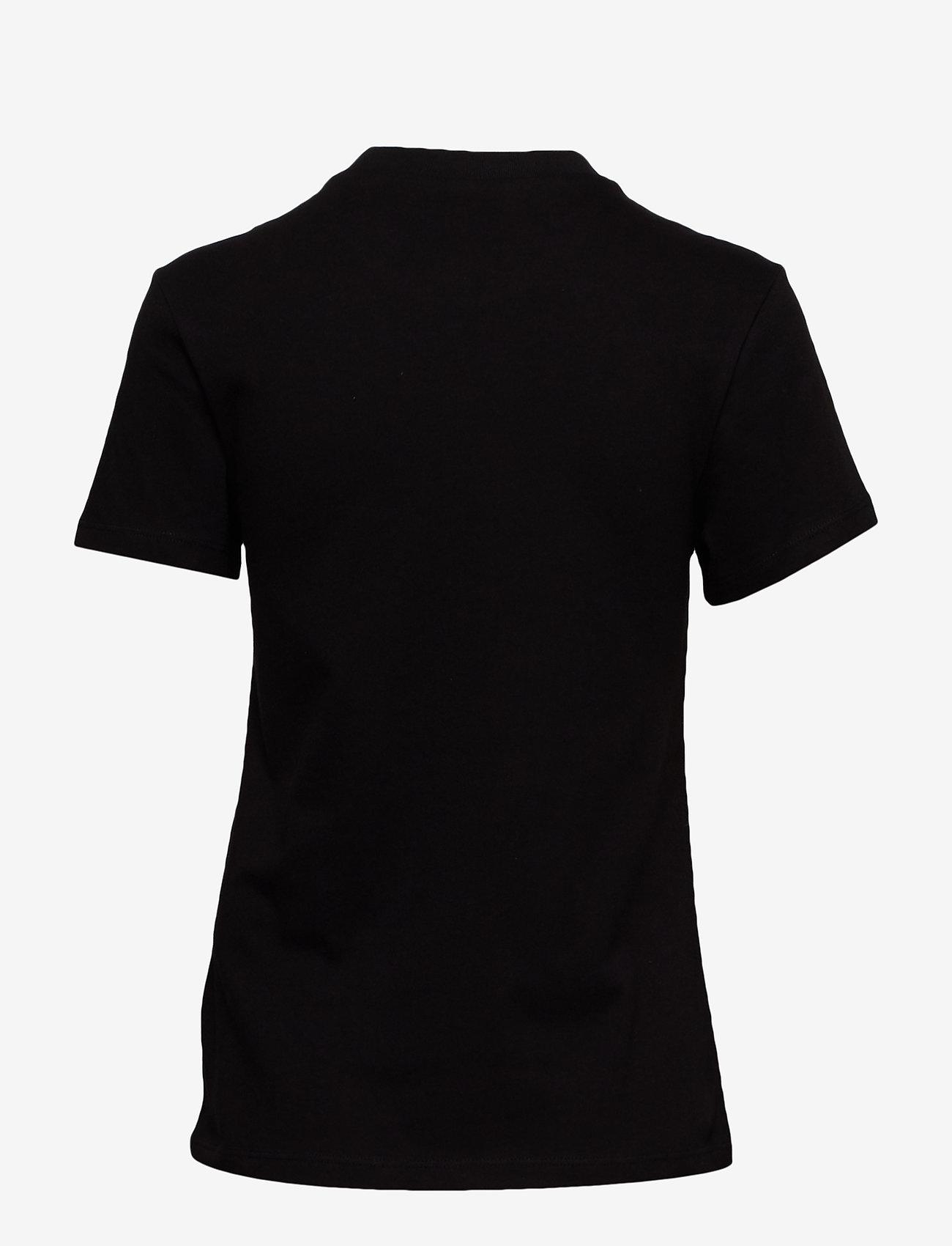 VANS - FLYING V CREW TEE - t-shirts - black - 1