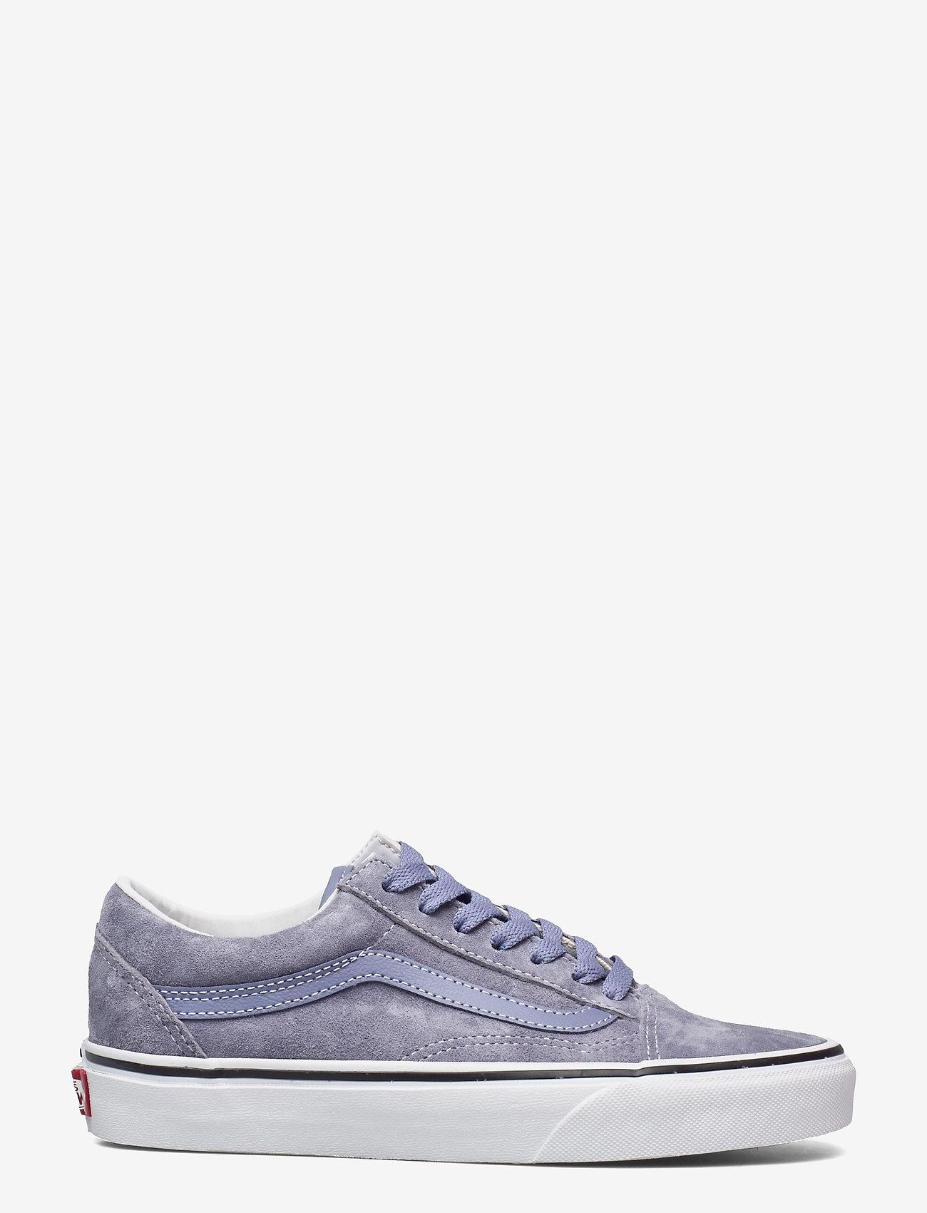 VANS - UA Old Skool - laag sneakers - (pig suede)tempestbltrwht - 1