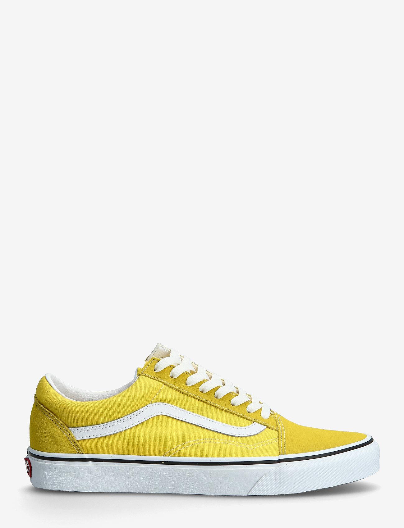 VANS - UA Old Skool - laag sneakers - cyber yellow/true white - 0