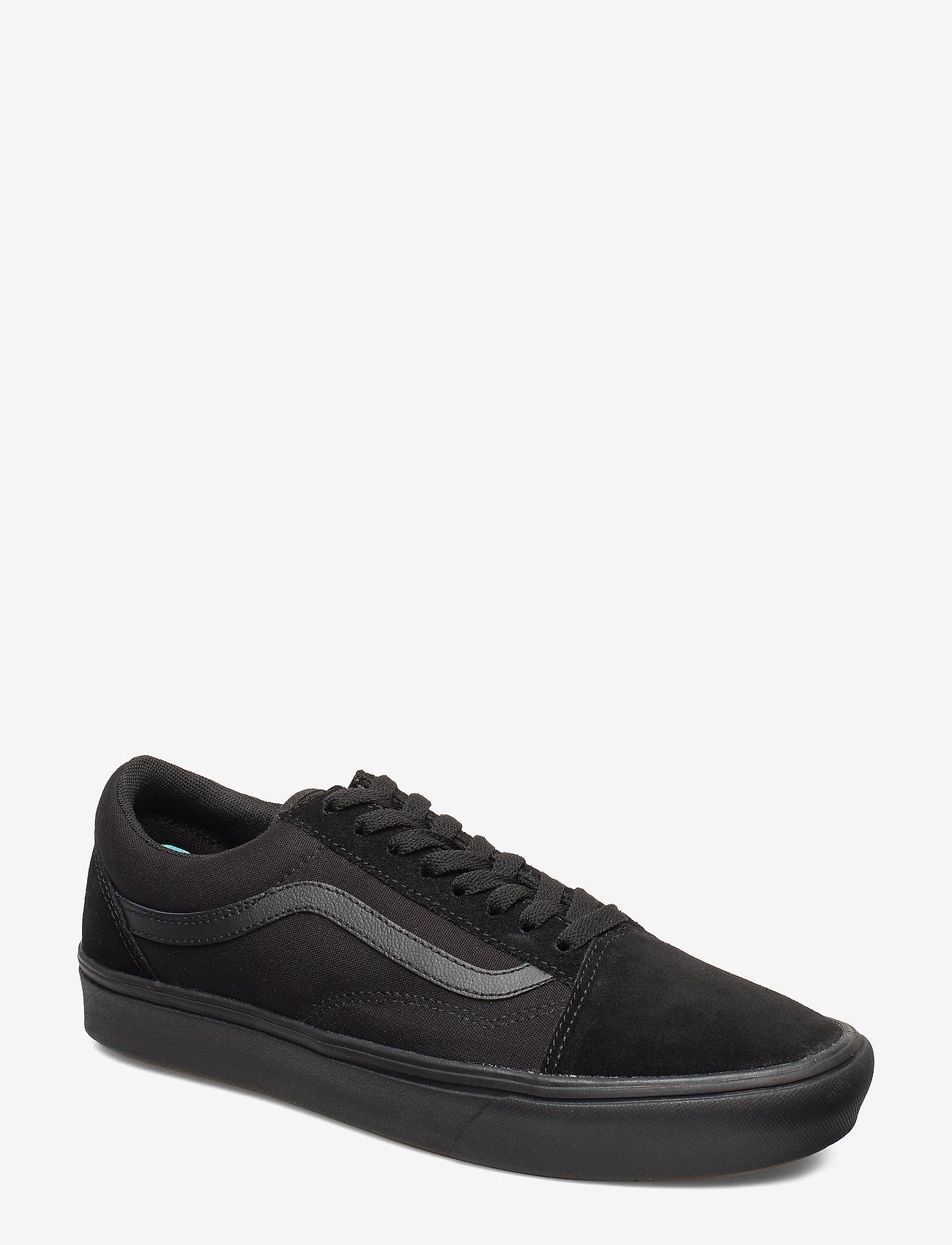 VANS - UA ComfyCush Old Skool - laag sneakers - (classic) black/black - 0