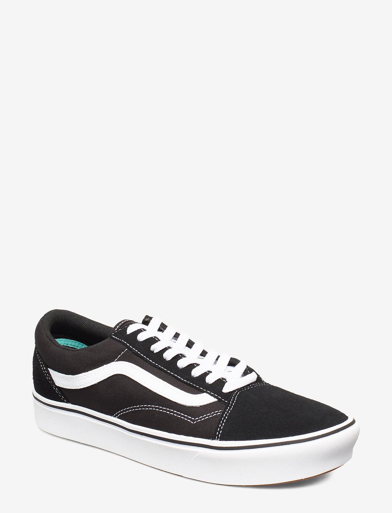 VANS - UA ComfyCush Old Skool - laag sneakers - (classic) black/true whit - 0