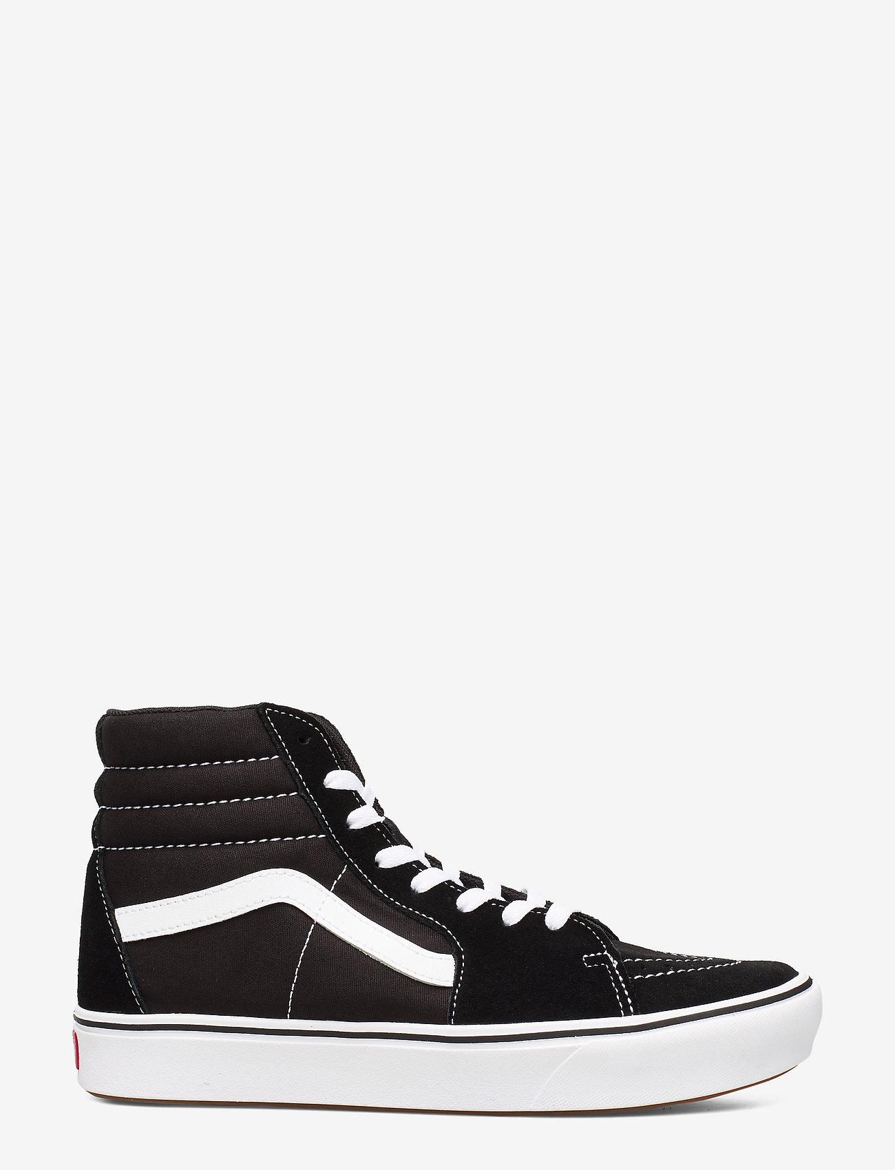 VANS - UA ComfyCush SK8-Hi - hoog sneakers - (classic) black/true whit - 1