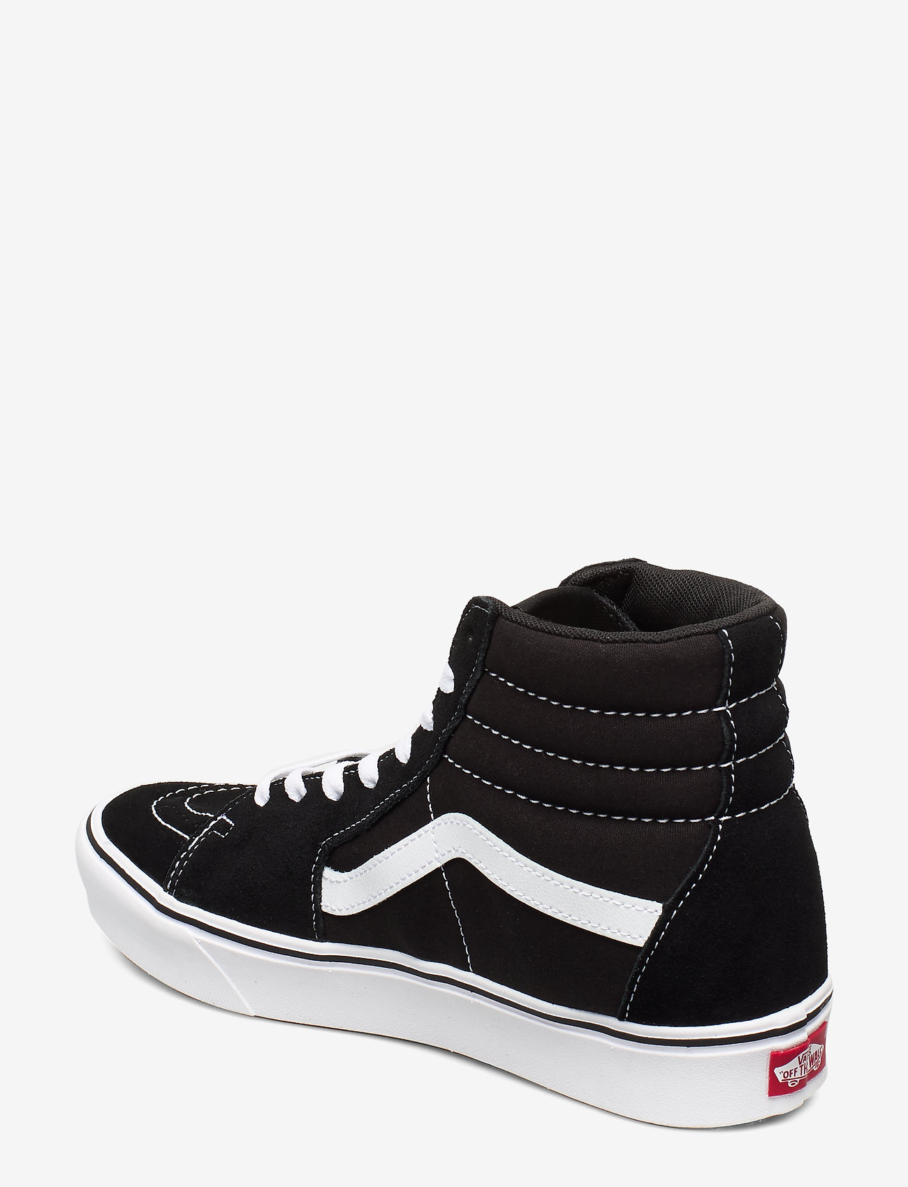 VANS - UA ComfyCush SK8-Hi - høje sneakers - (classic) black/true whit - 1