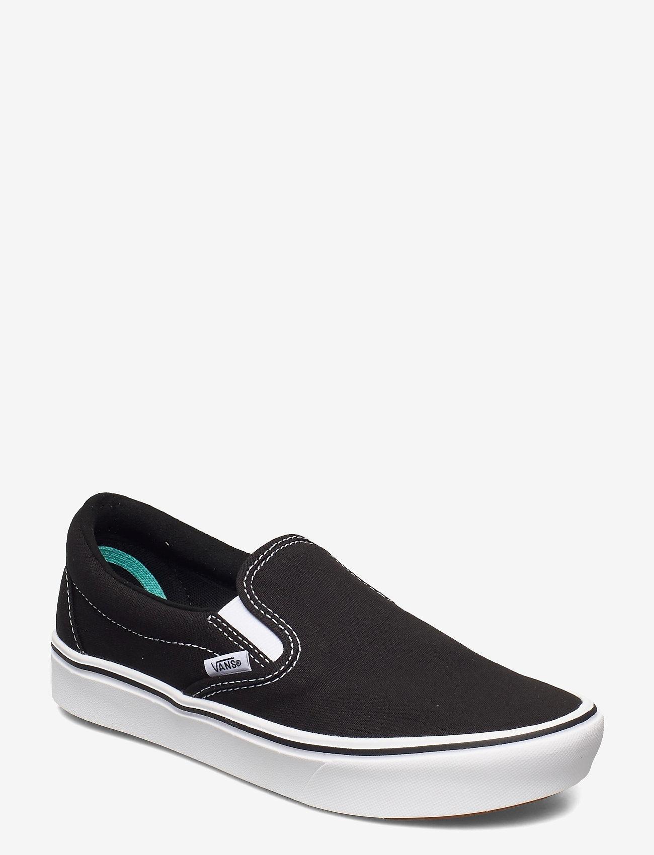 VANS - UA ComfyCush Slip-On - slip-on schoenen - (classic) black/true whit - 0