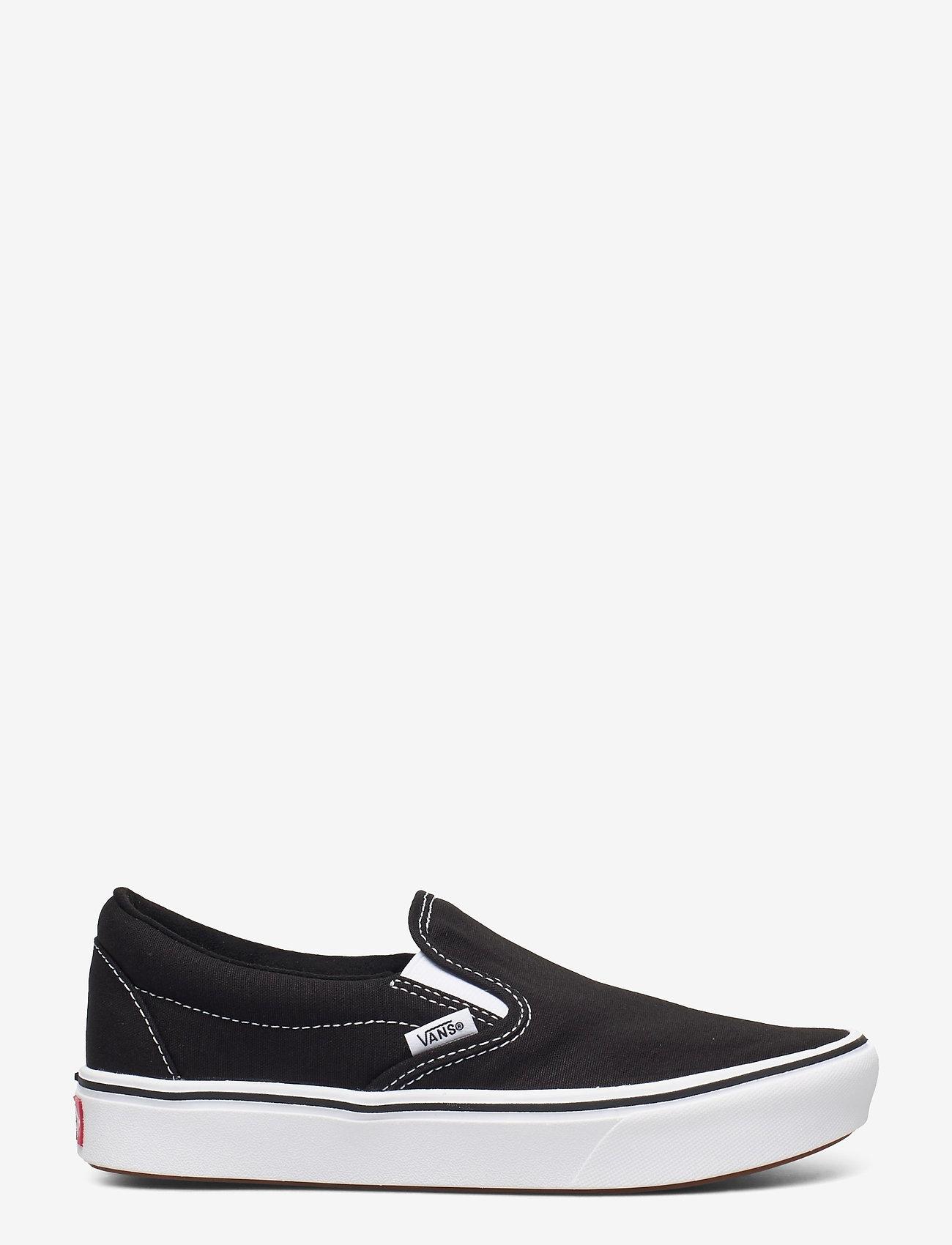 VANS - UA ComfyCush Slip-On - slip-on schoenen - (classic) black/true whit - 1