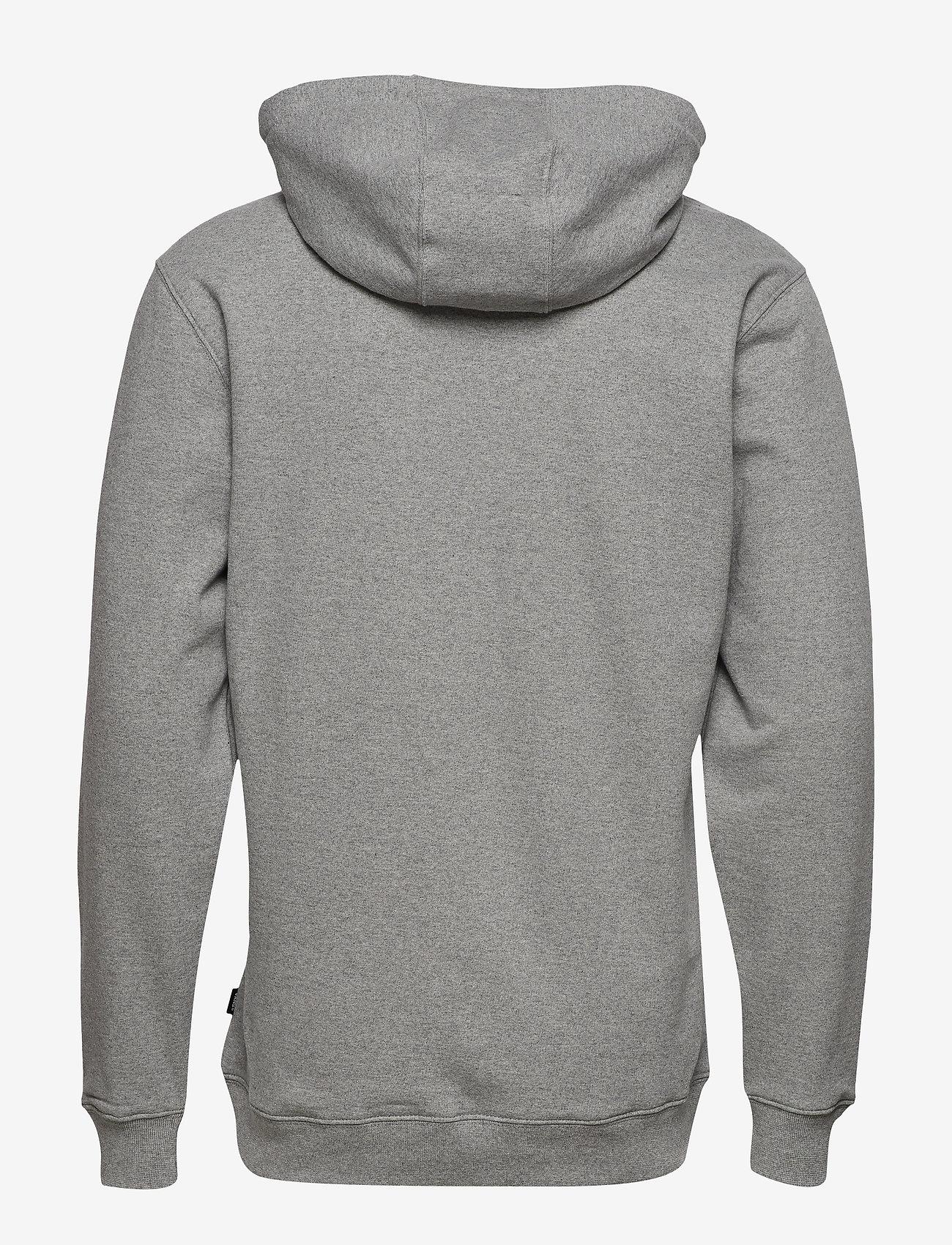 VANS - VANS CLASSIC PO HOODIE II - hoodies - cement heather-black - 1