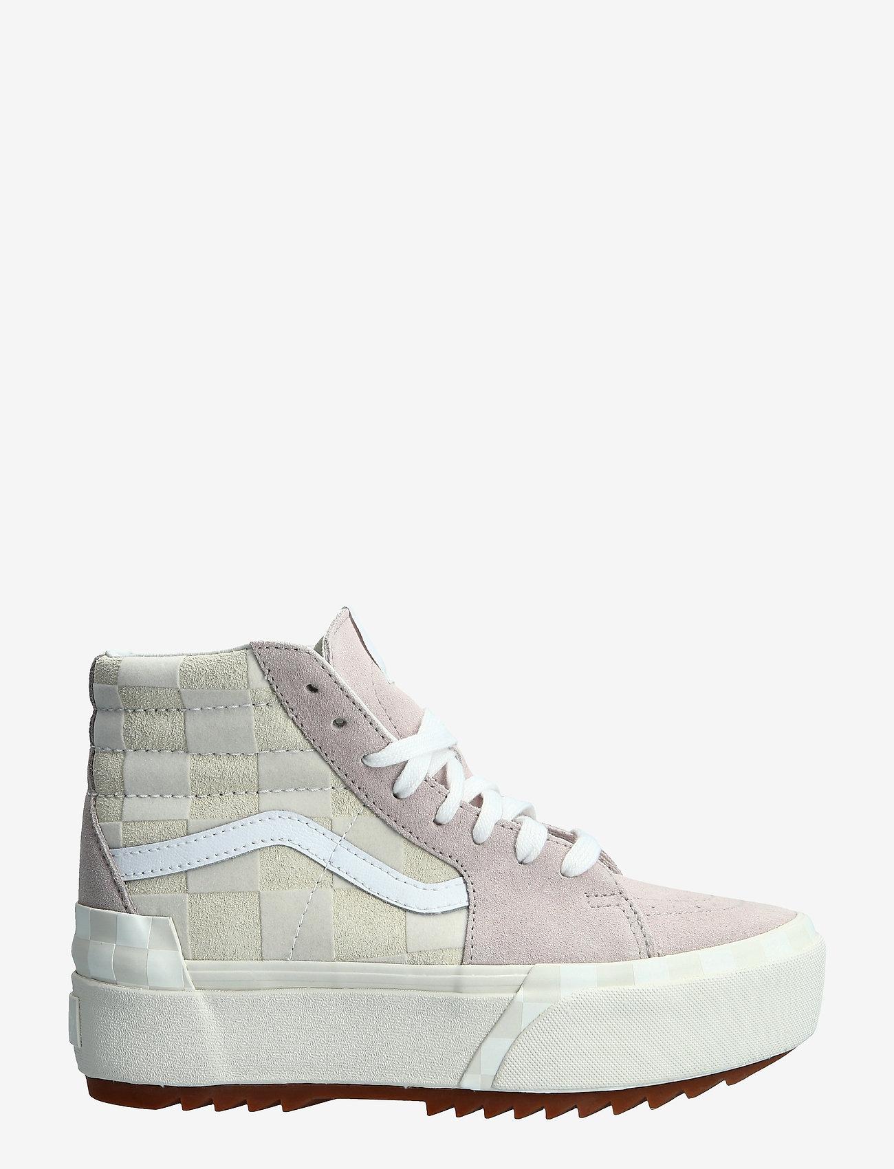 VANS - Shoe Adult Unisex Numeric Wid - baskets épaisses - (chkrbrd)blncdblnchshdvlt - 1