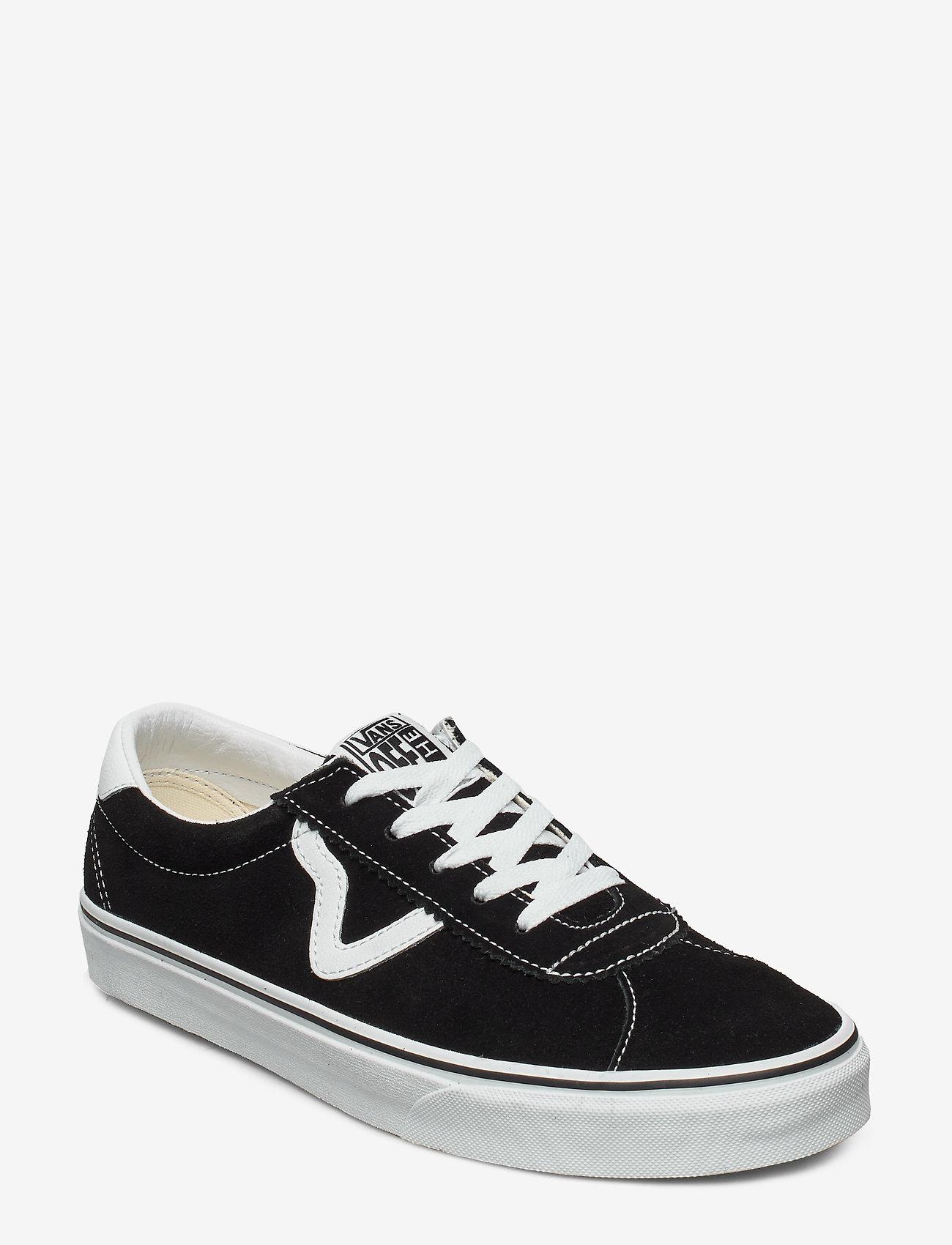 VANS - UA Vans Sport - laag sneakers - (suede) black - 0