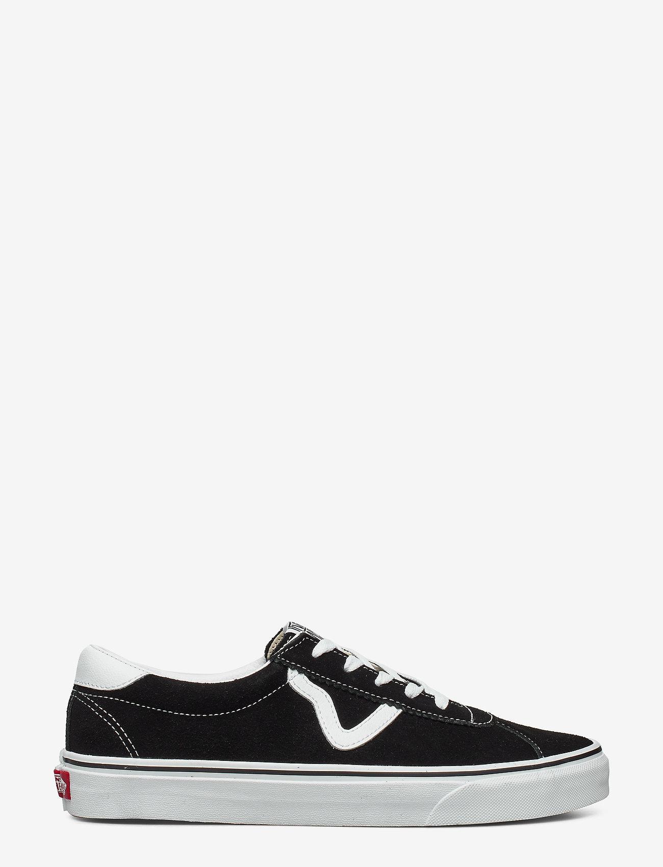 VANS - UA Vans Sport - laag sneakers - (suede) black - 1