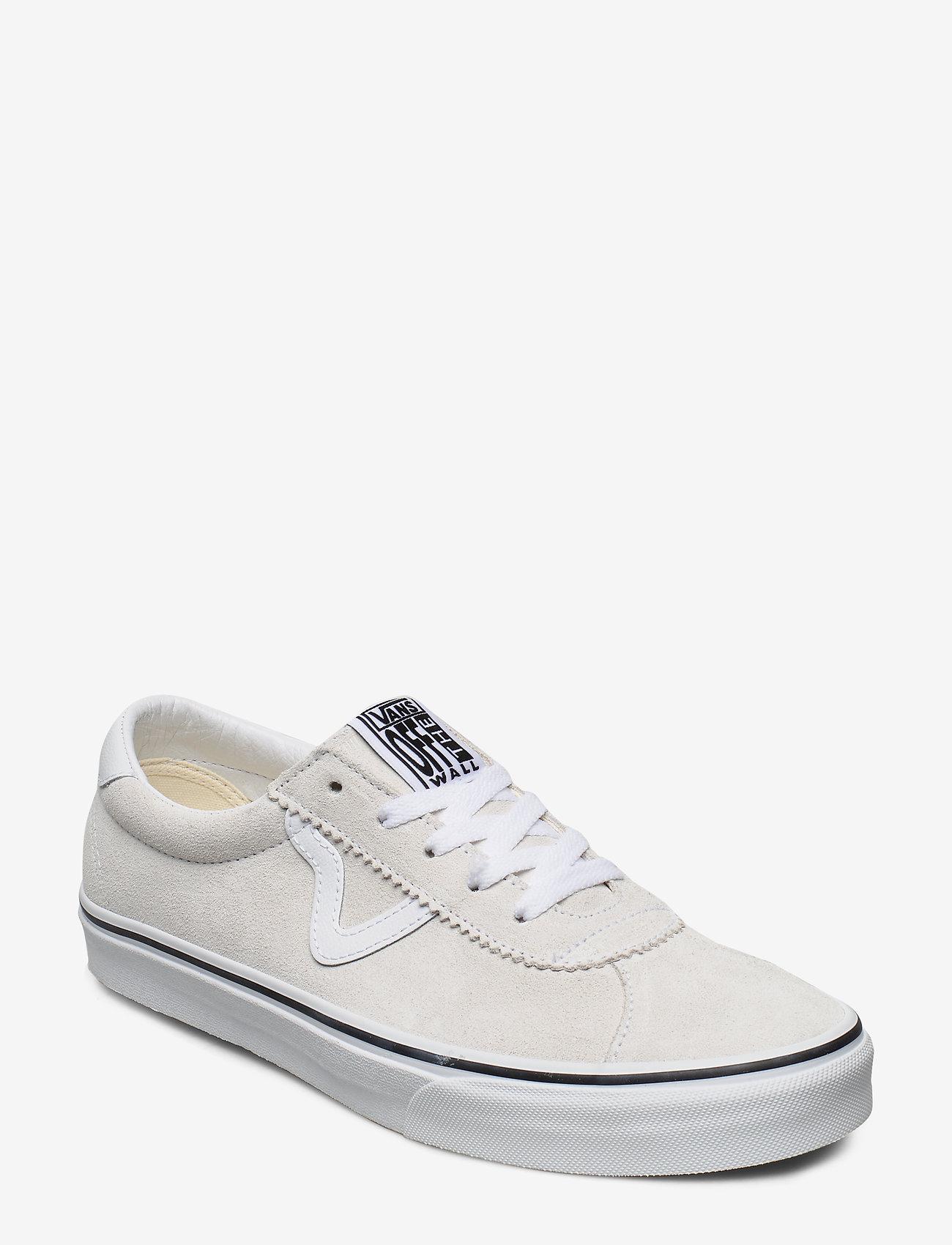 VANS - UA Vans Sport - laag sneakers - (suede) white - 0