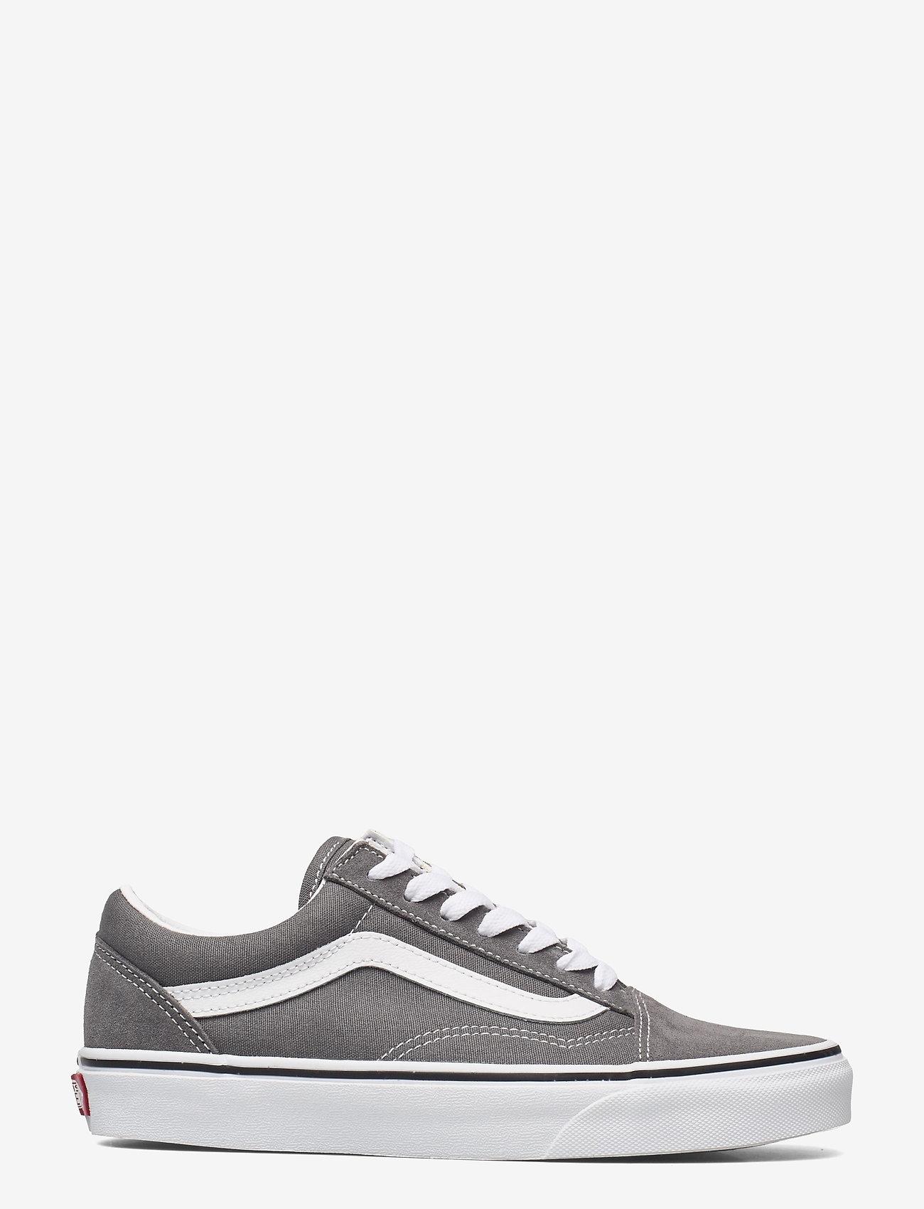 VANS - UA Old Skool - laag sneakers - pewter/true white - 1