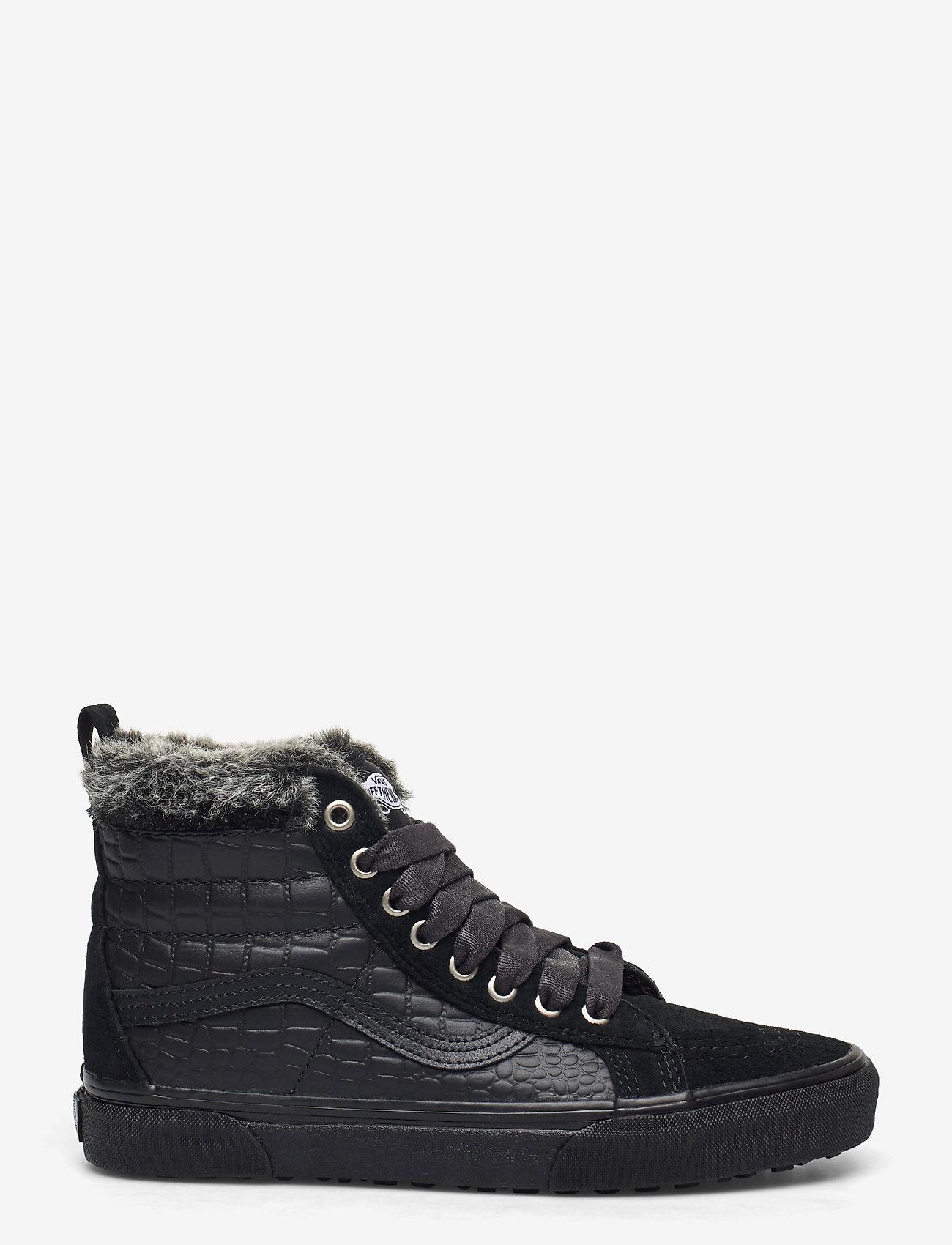 VANS - UA SK8-Hi MTE - hoge sneakers - (croc mte) black/black - 1