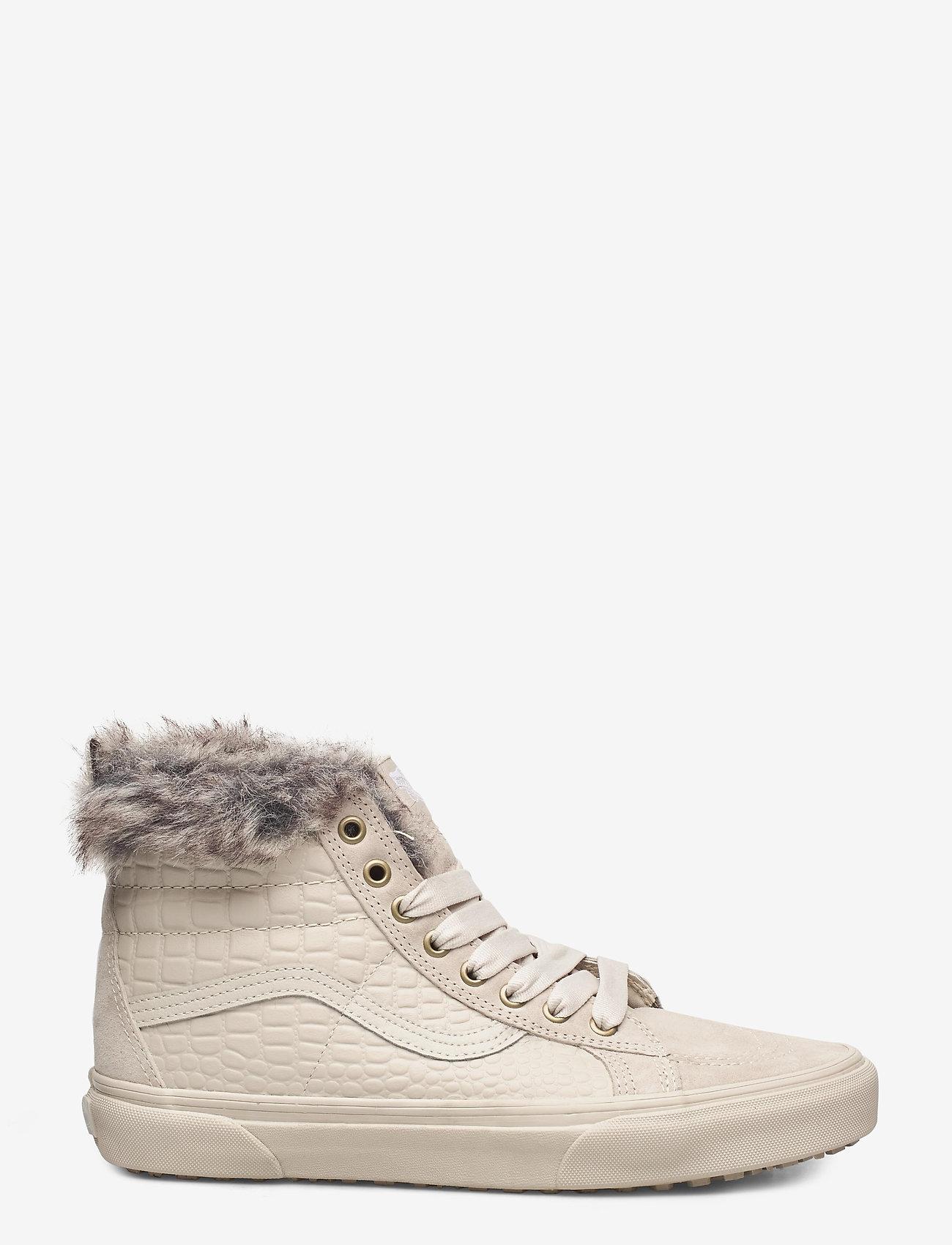 VANS - UA SK8-Hi MTE - hoge sneakers - (croc mte)oatmeal/oatmeal - 1