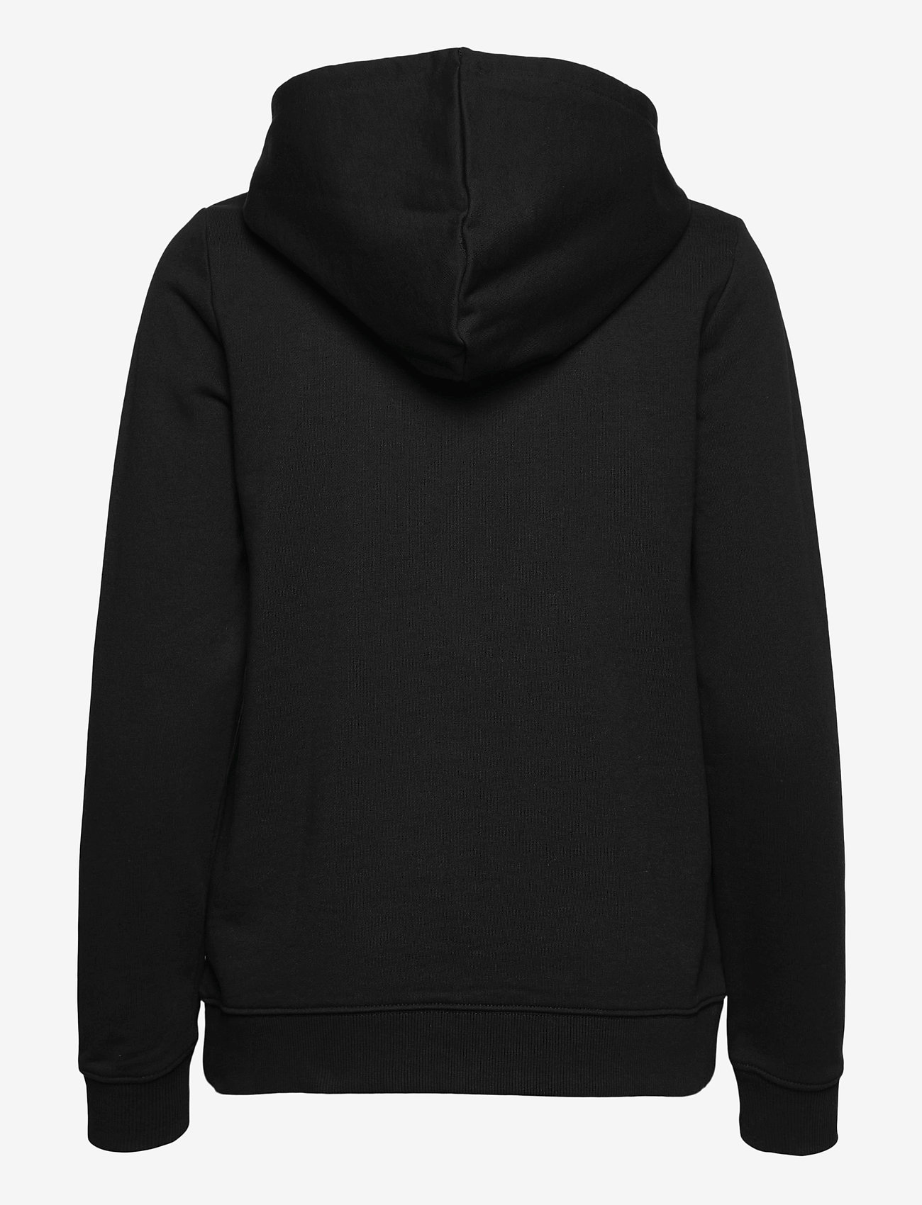 VANS - CLASSIC V ZIP HOODIE - hoodies - black - 1