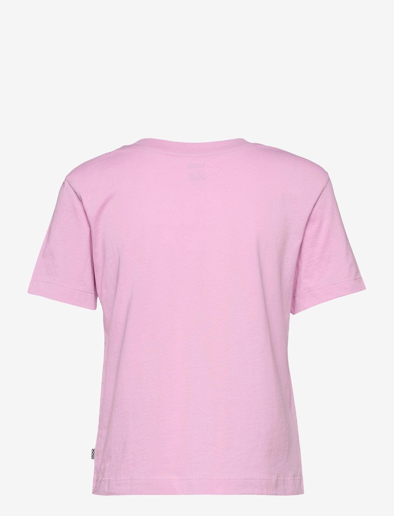 VANS - JUNIOR V BOXY - t-shirts - orchid - 1