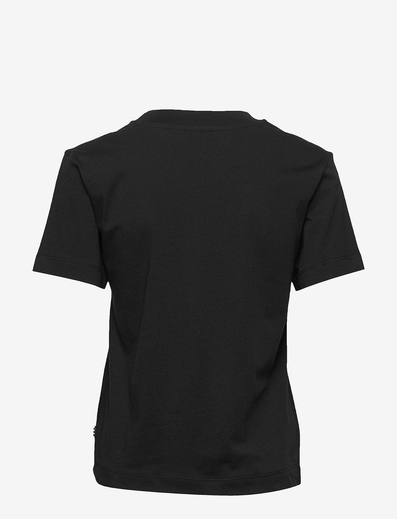 VANS - JUNIOR V BOXY - sportieve tops - black - 1