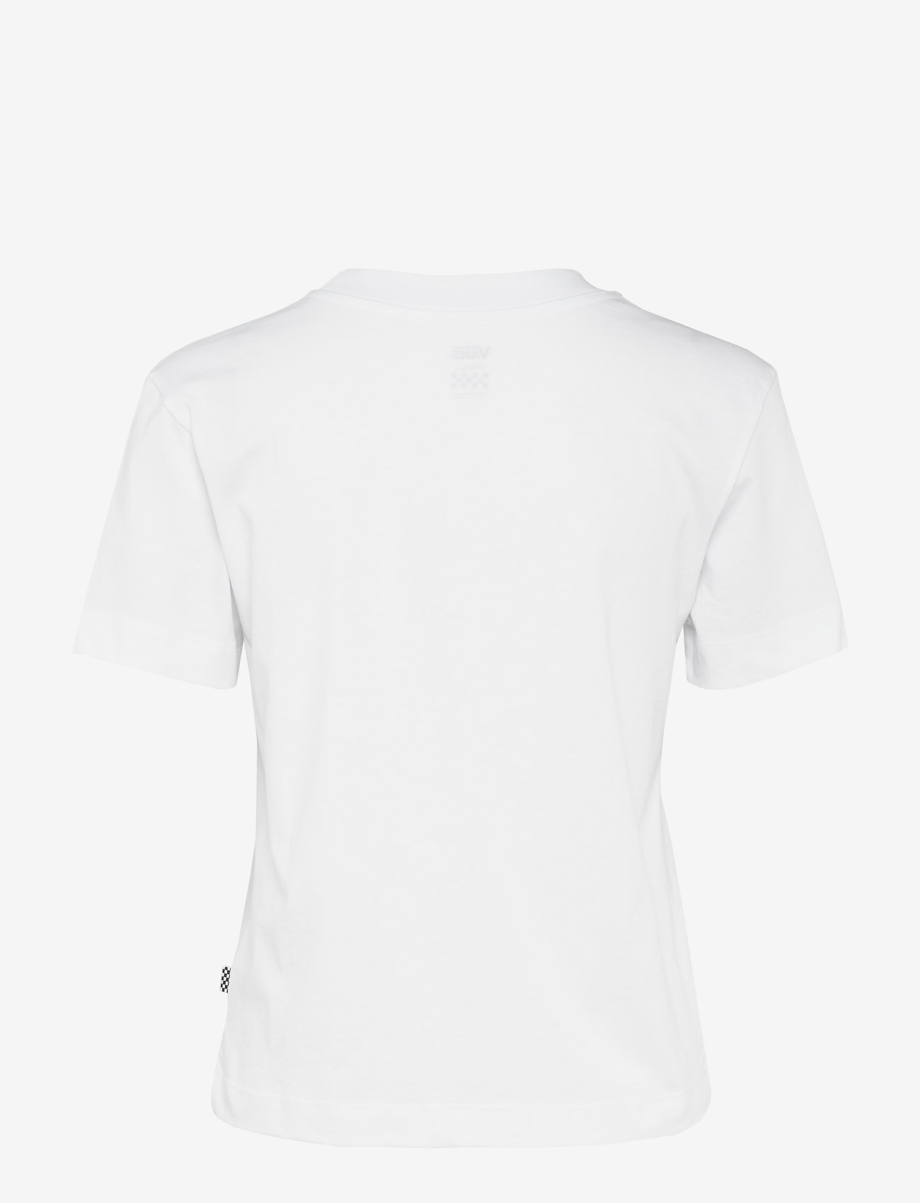 VANS - JUNIOR V BOXY - sportieve tops - white - 1