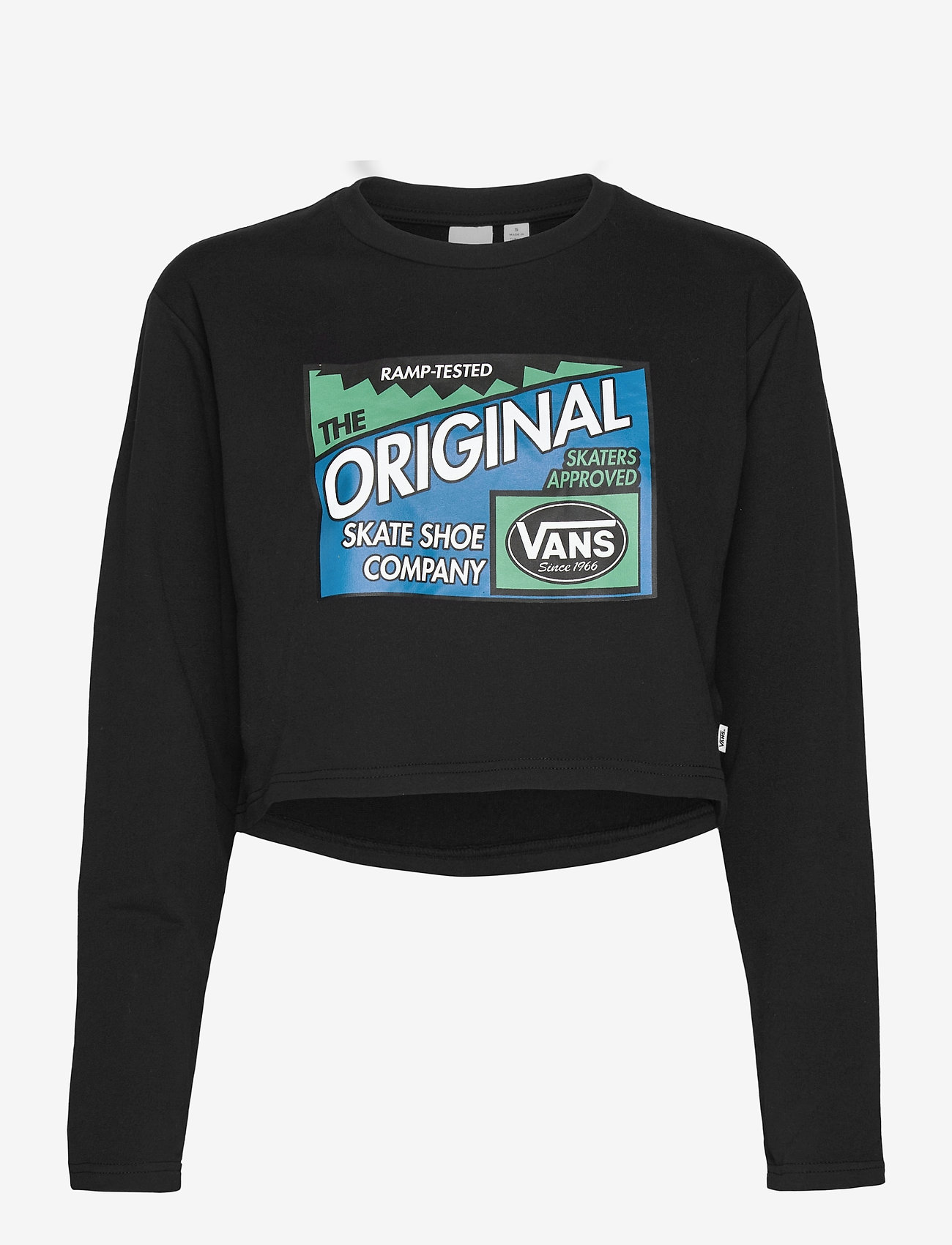 VANS - RAMP TESTED CREW - navel shirts - black - 0