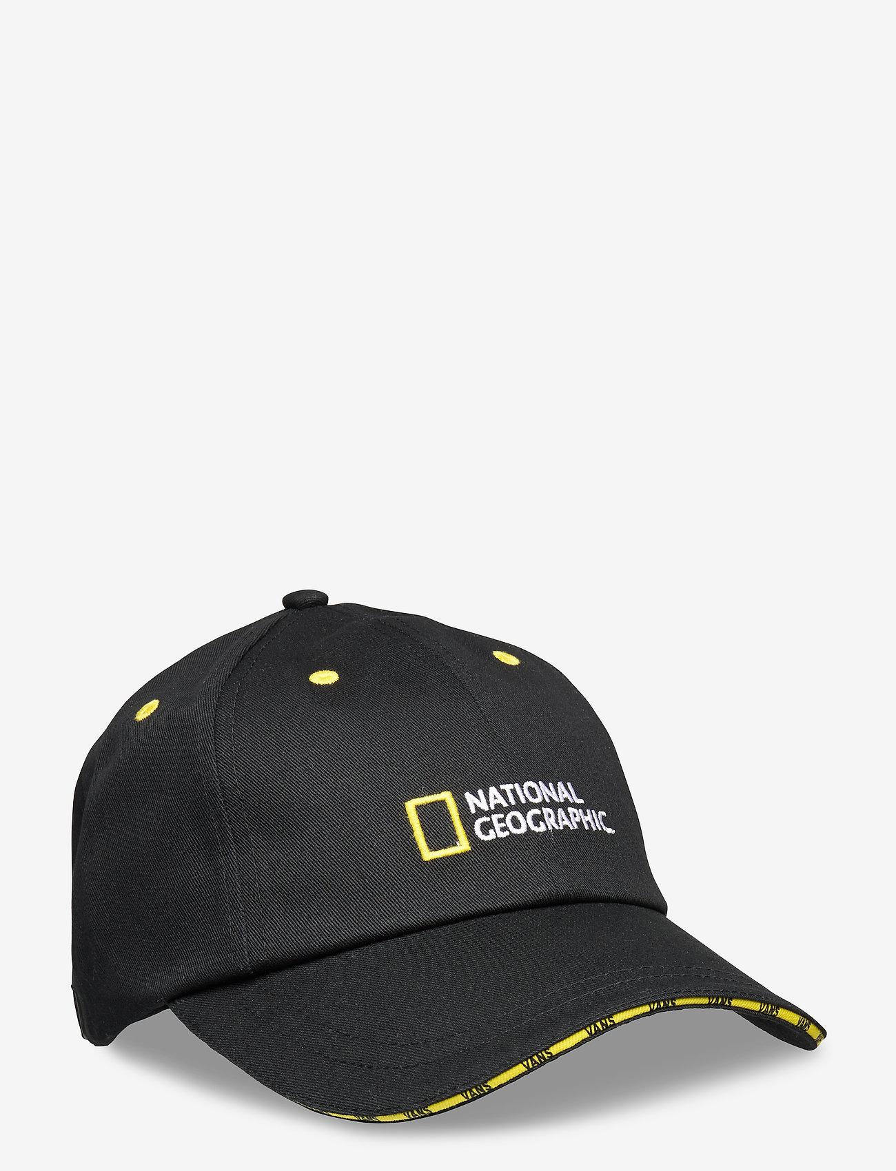VANS - NAT GEO HAT - caps - black - 0
