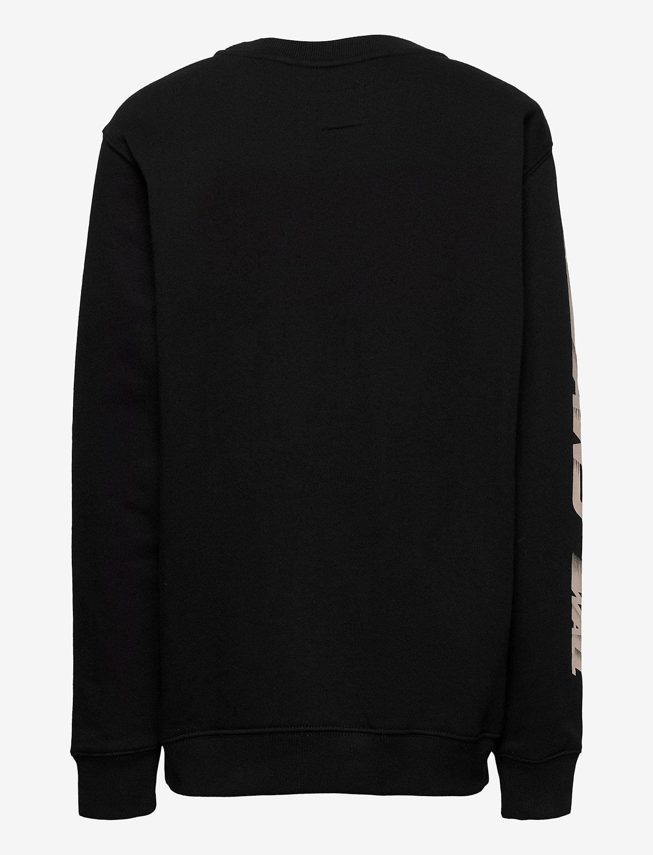 VANS - RACERS EDGE CREW BOYS - sweatshirts - black - 1