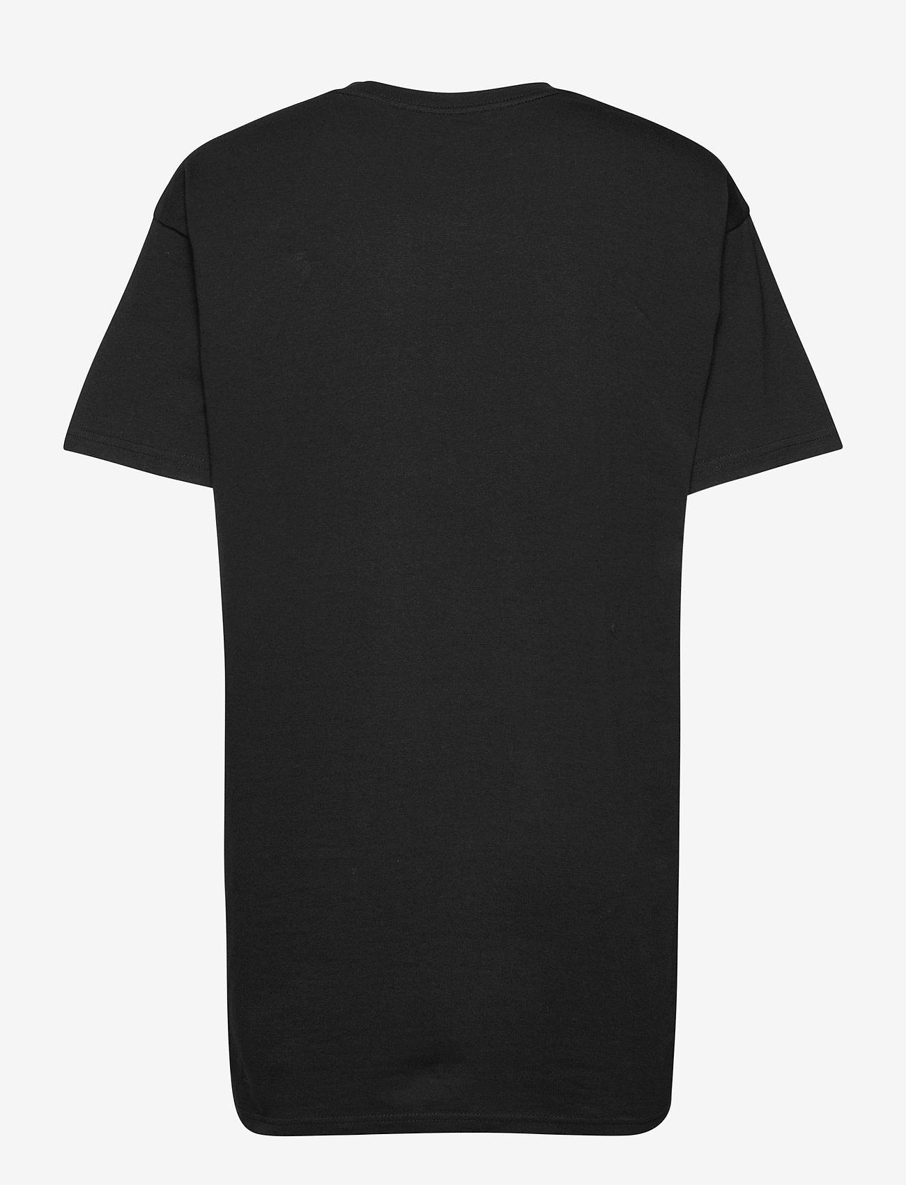 VANS - CENTER VEE TEE DRESS - sportieve tops - black - 1