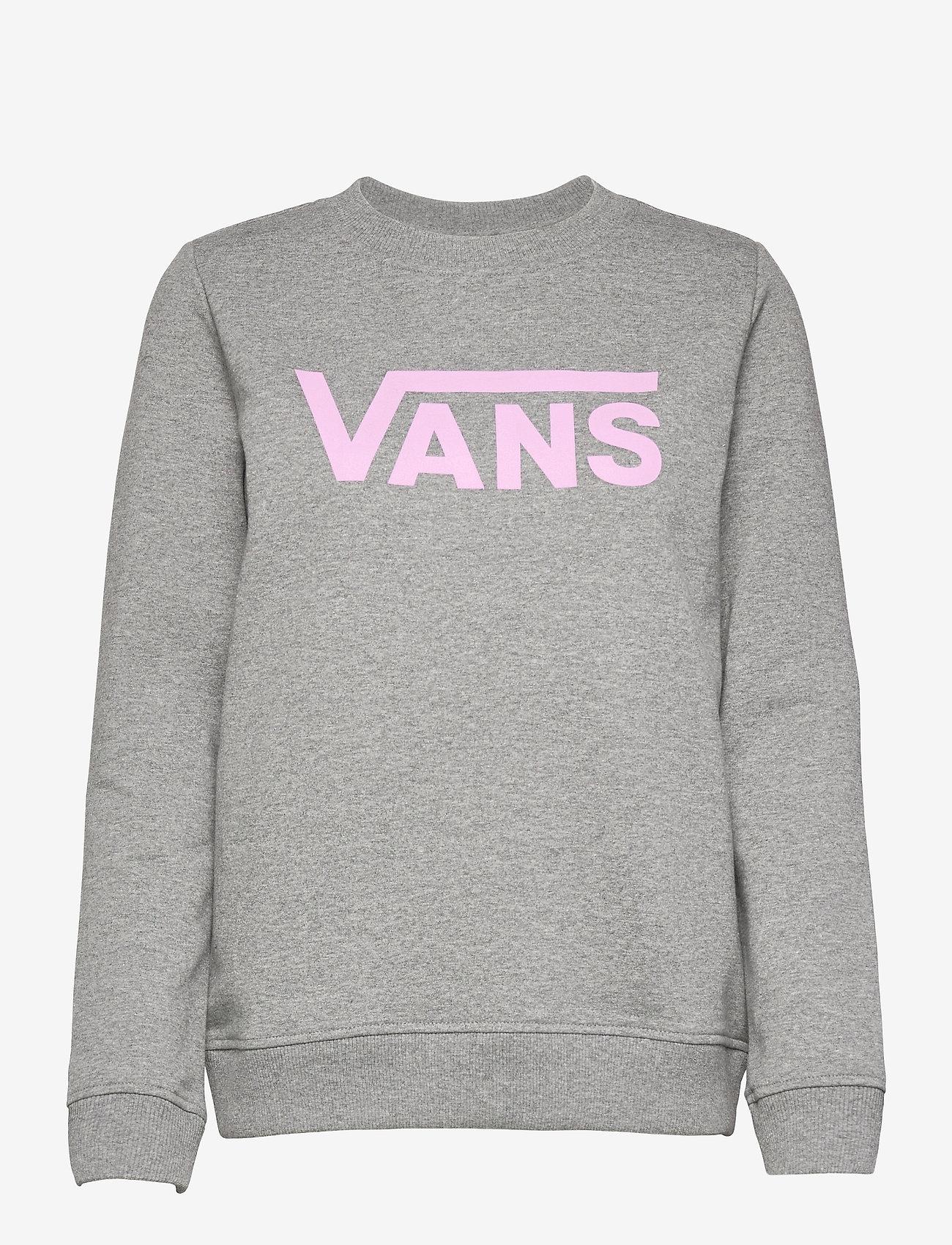 VANS - CLASSIC V CREW - sweatshirts - cement heather - 0
