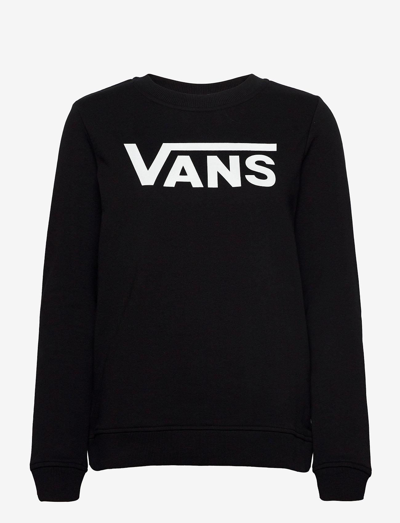 VANS - CLASSIC V CREW - sweatshirts - black - 0